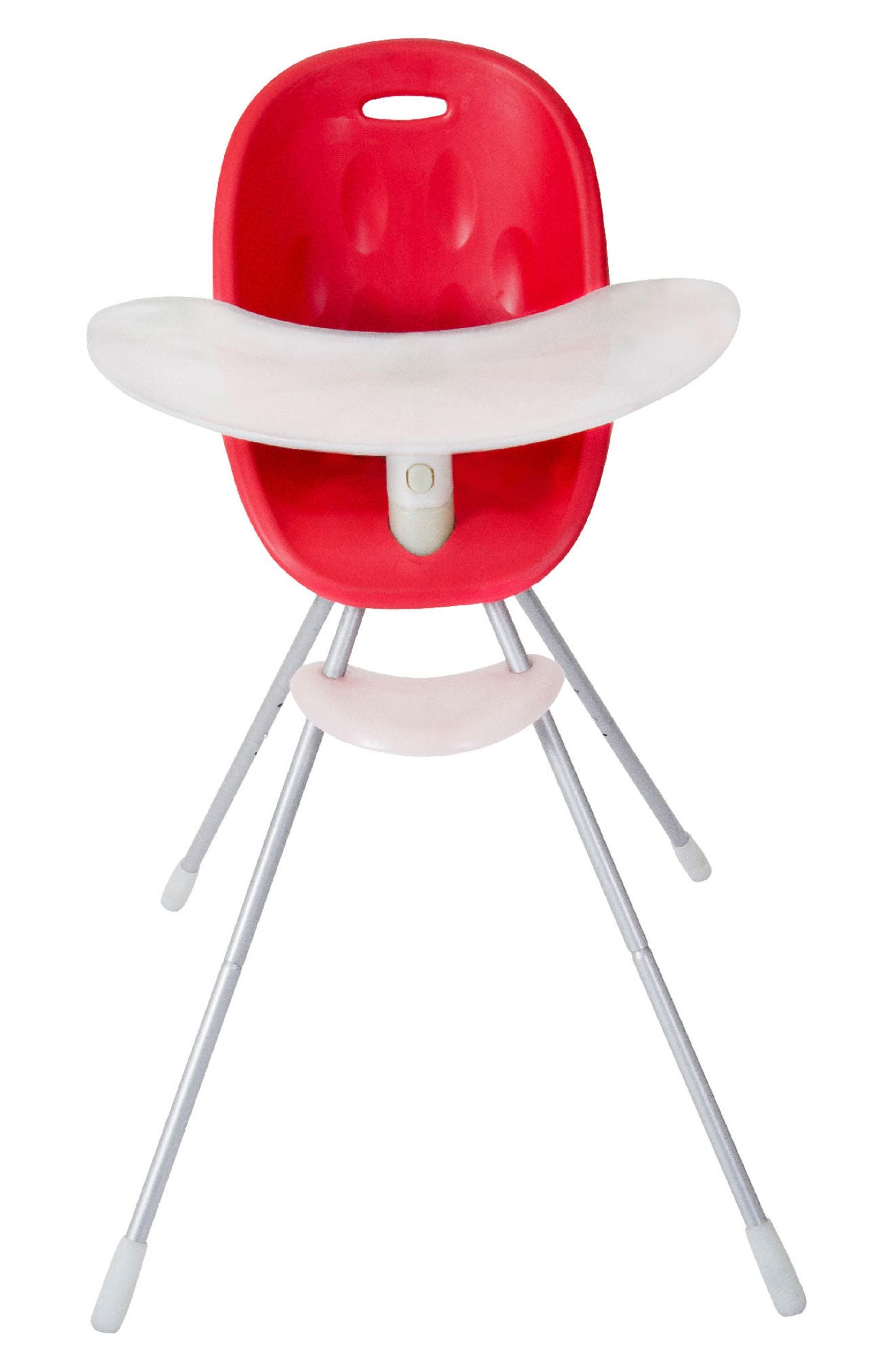 Poppy High Chair,                         Main,                         color, Cranberry