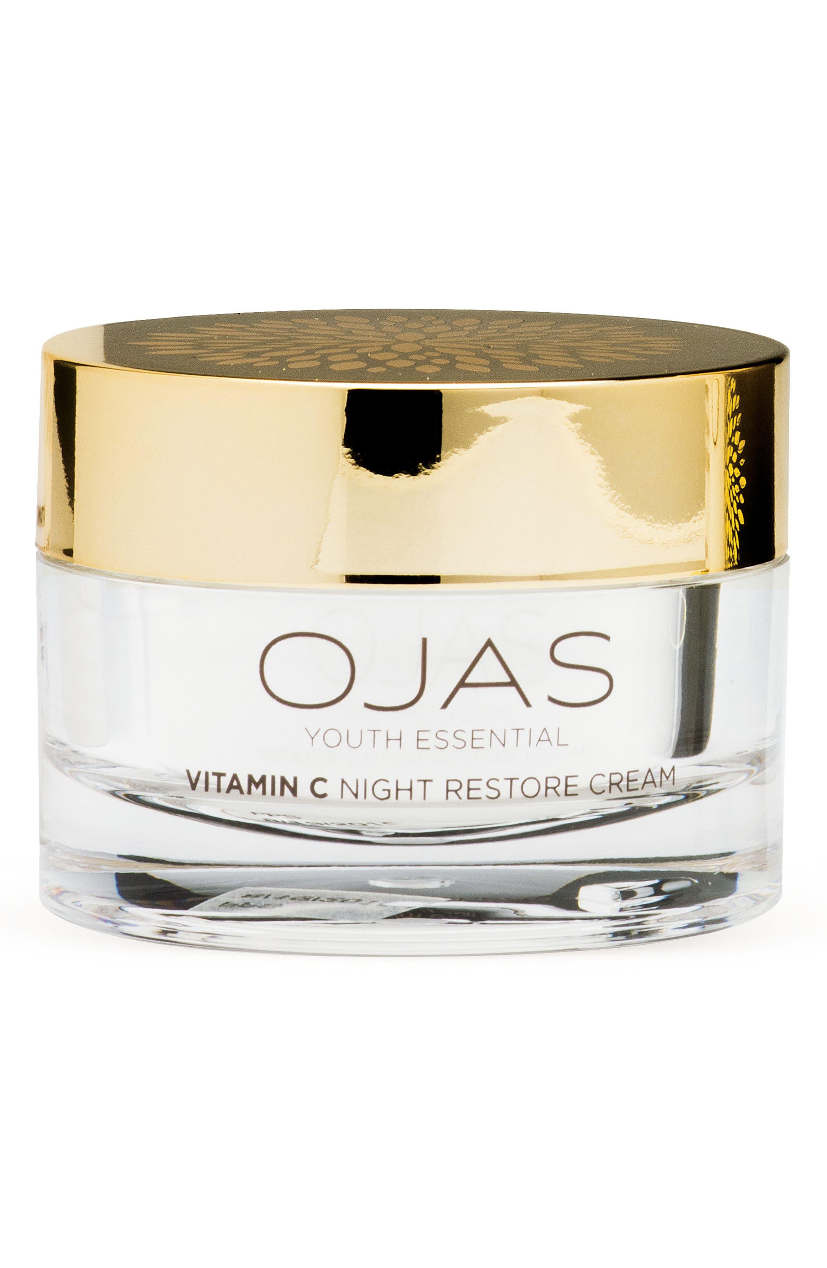 Vitamin C Night Restore Cream,                         Main,                         color, No Color