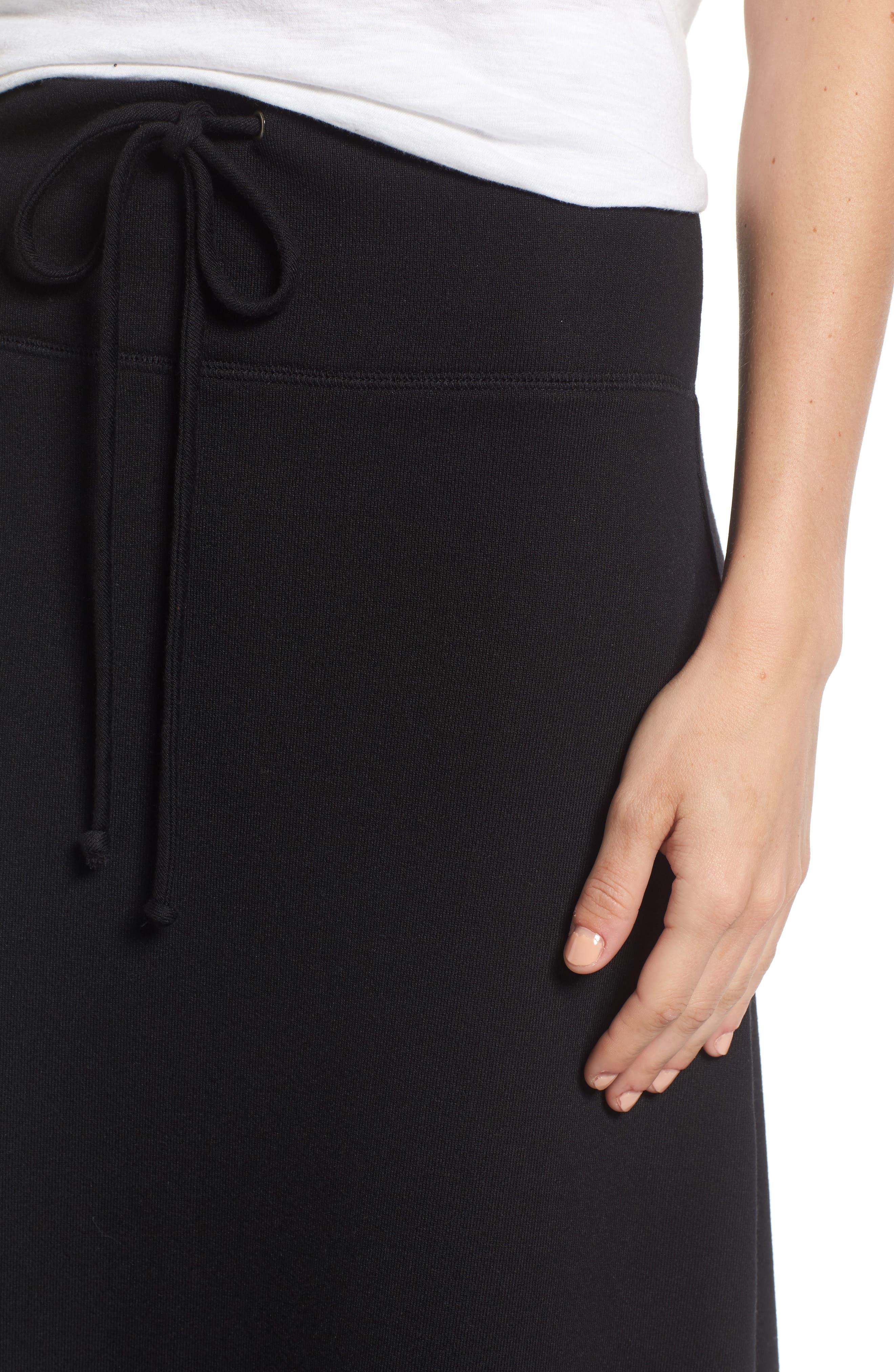 Alternate Image 4  - Caslon® Drawstring Knit Maxi Skirt (Regular & Petite)