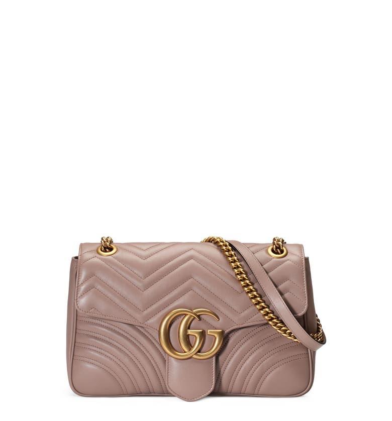 Replica Gucci Nude GG Marmont Medium Shopping Bag