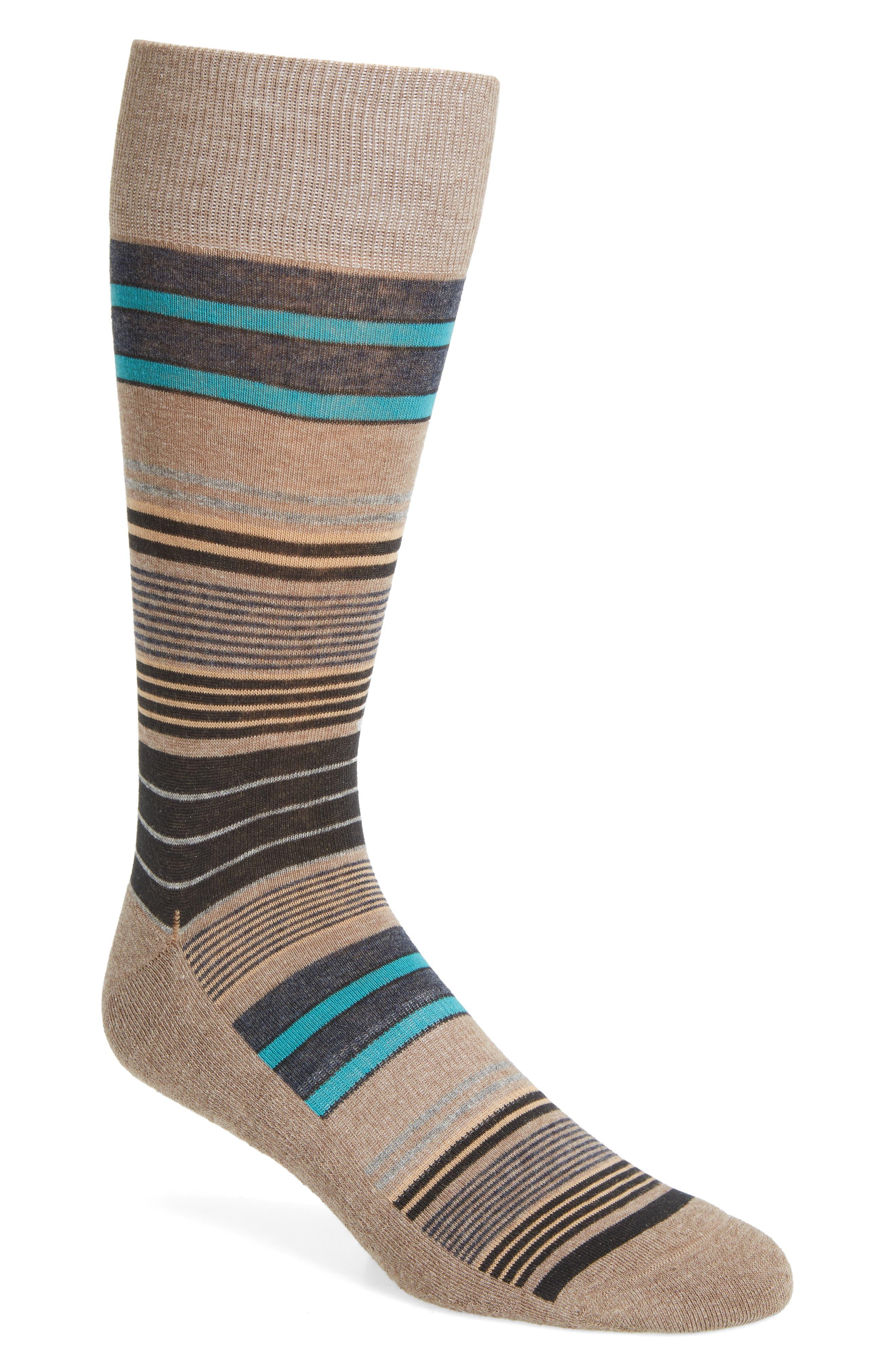 Nordstrom Men's Shop Random Stripe Socks