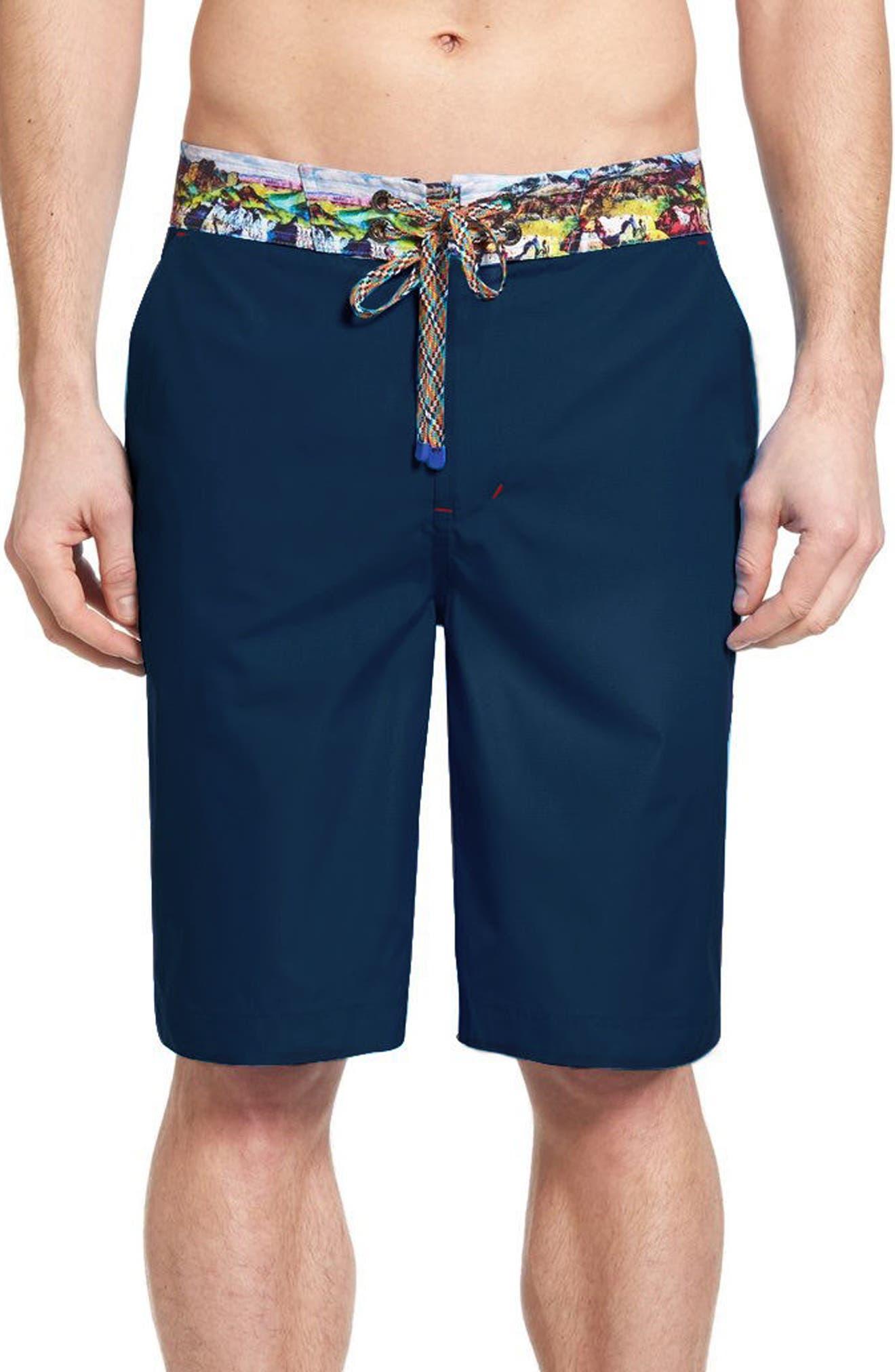 Boundless Board Shorts,                         Main,                         color, Navy