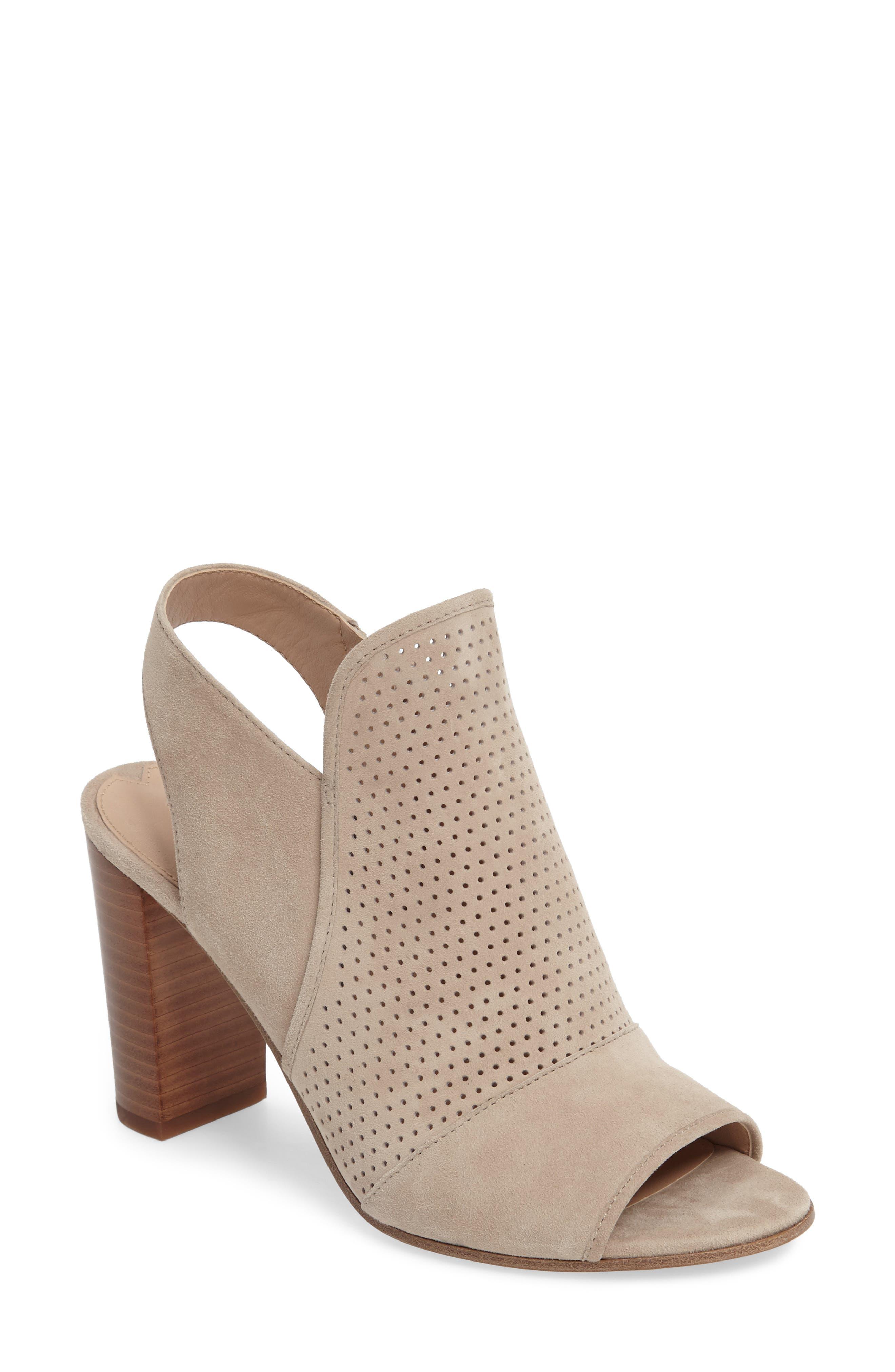 Alternate Image 1 Selected - Via Spiga Gaze Block Heel Sandal (Women)