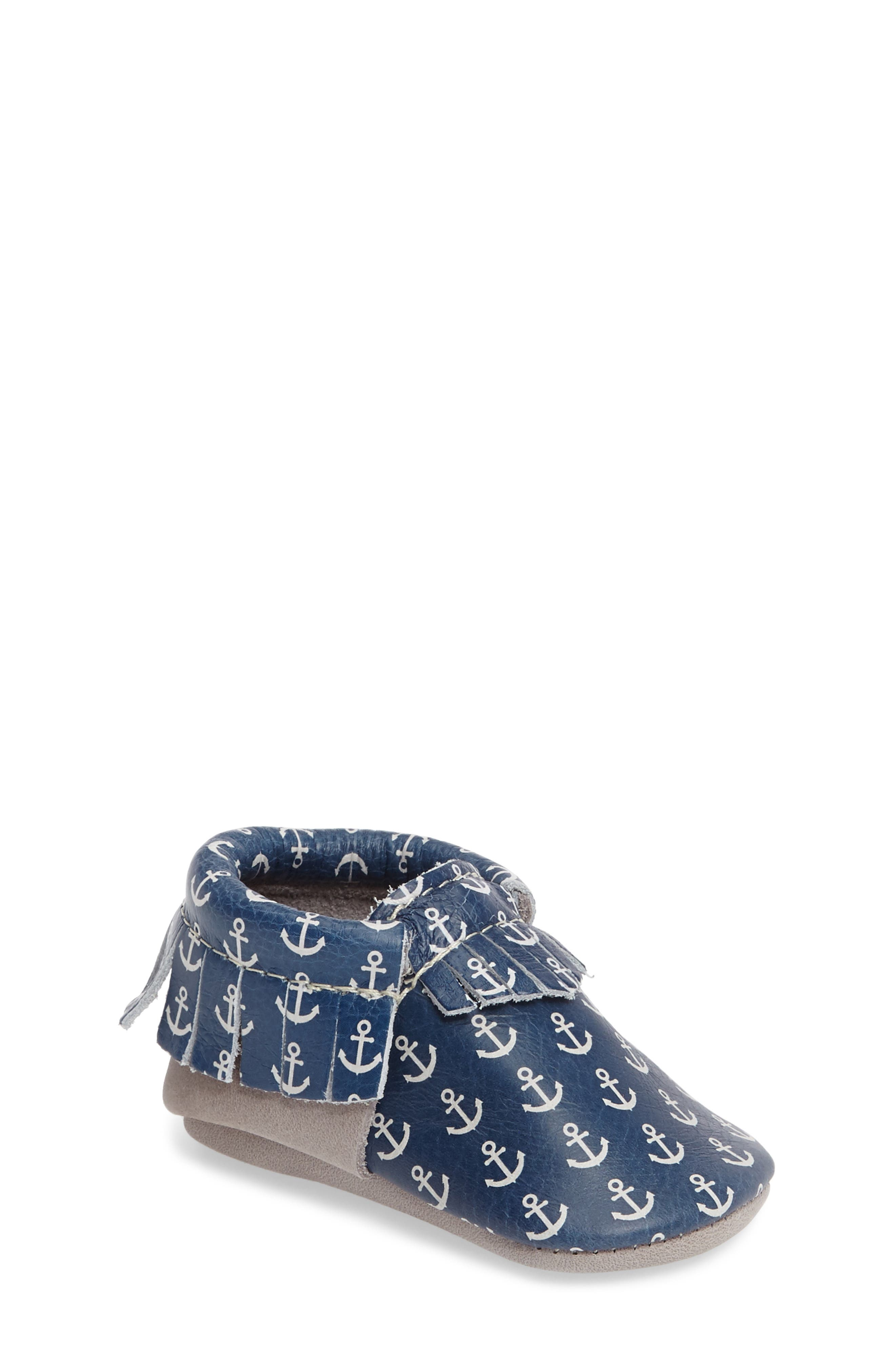 Freshly Picked Anchor Moccasin (Baby & Walker)