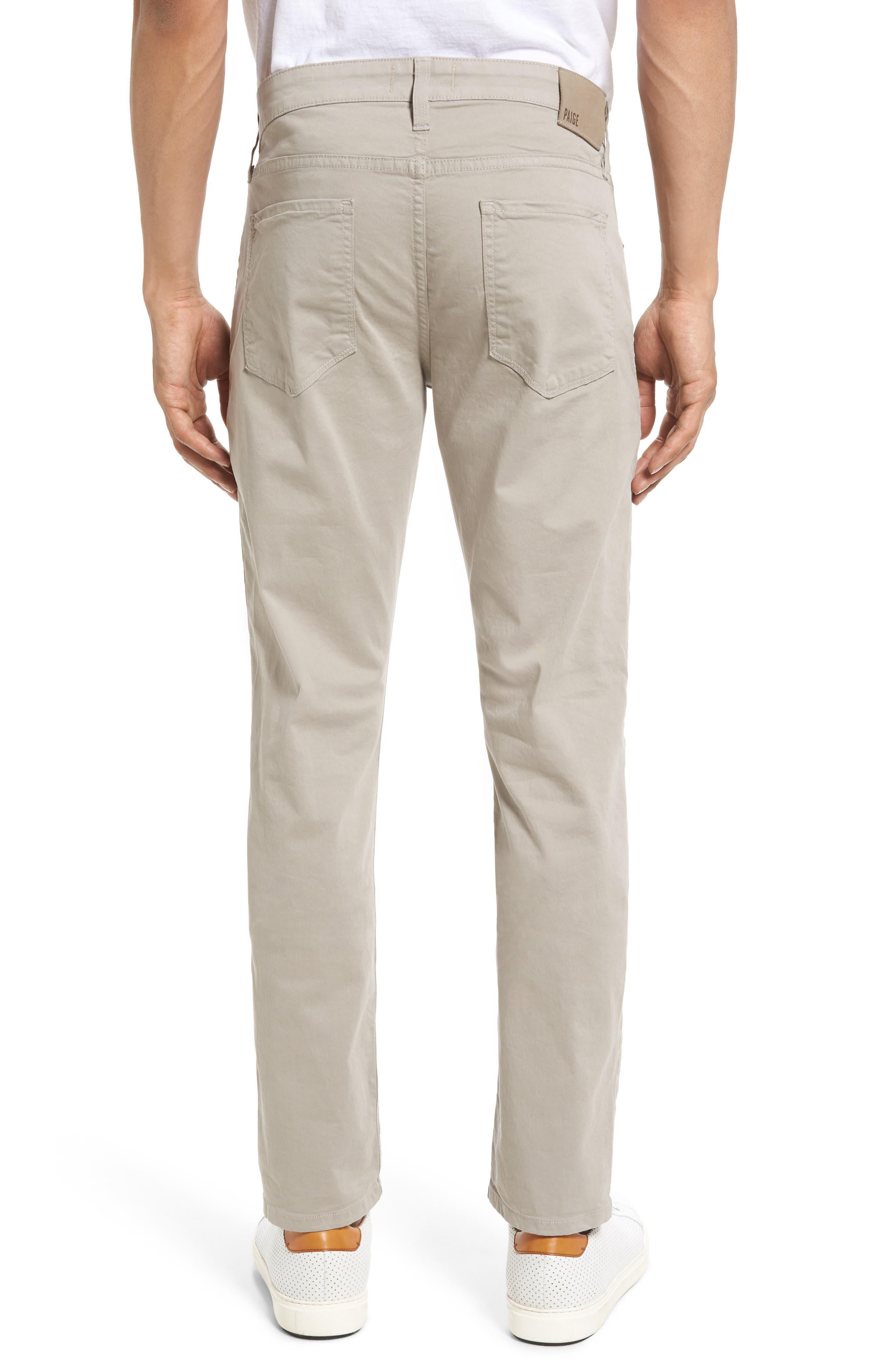 Alternate Image 2  - PAIGE Lennox Skinny Fit Pants