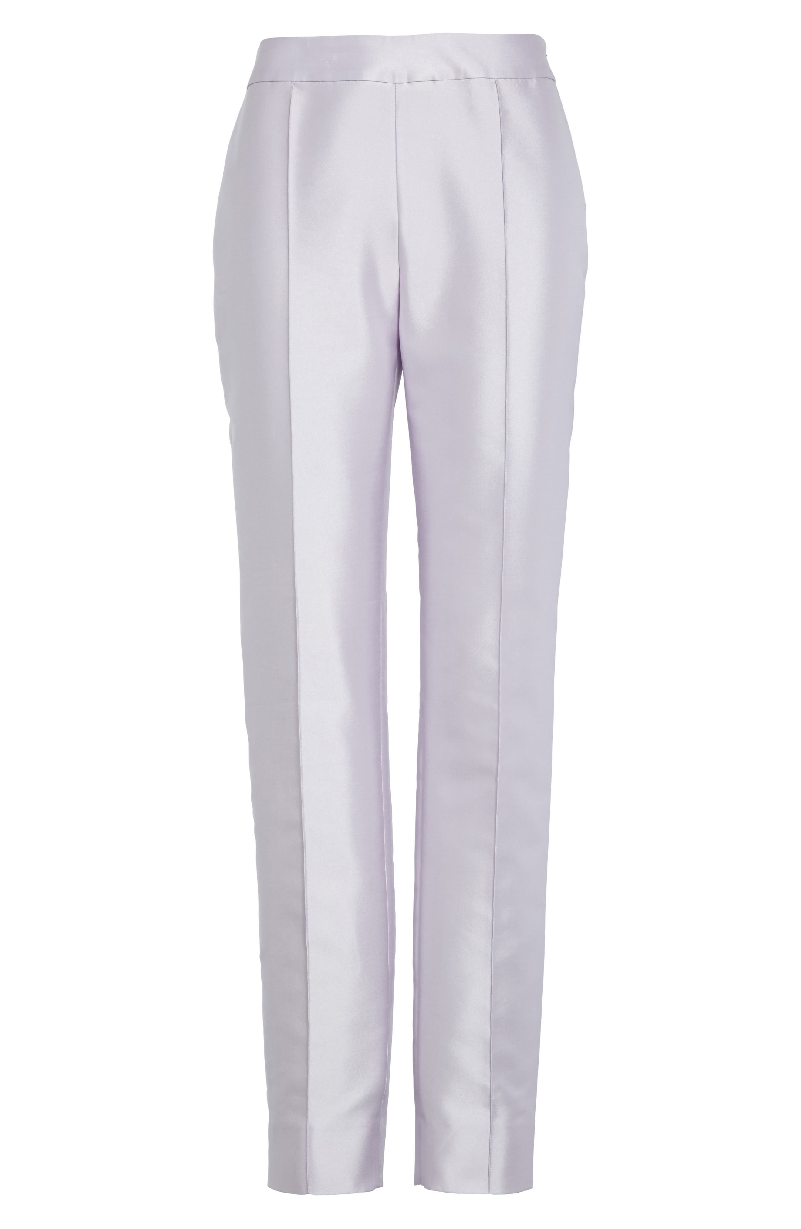 Alternate Image 6  - St. John Collection Mikado Ankle Skinny Pants