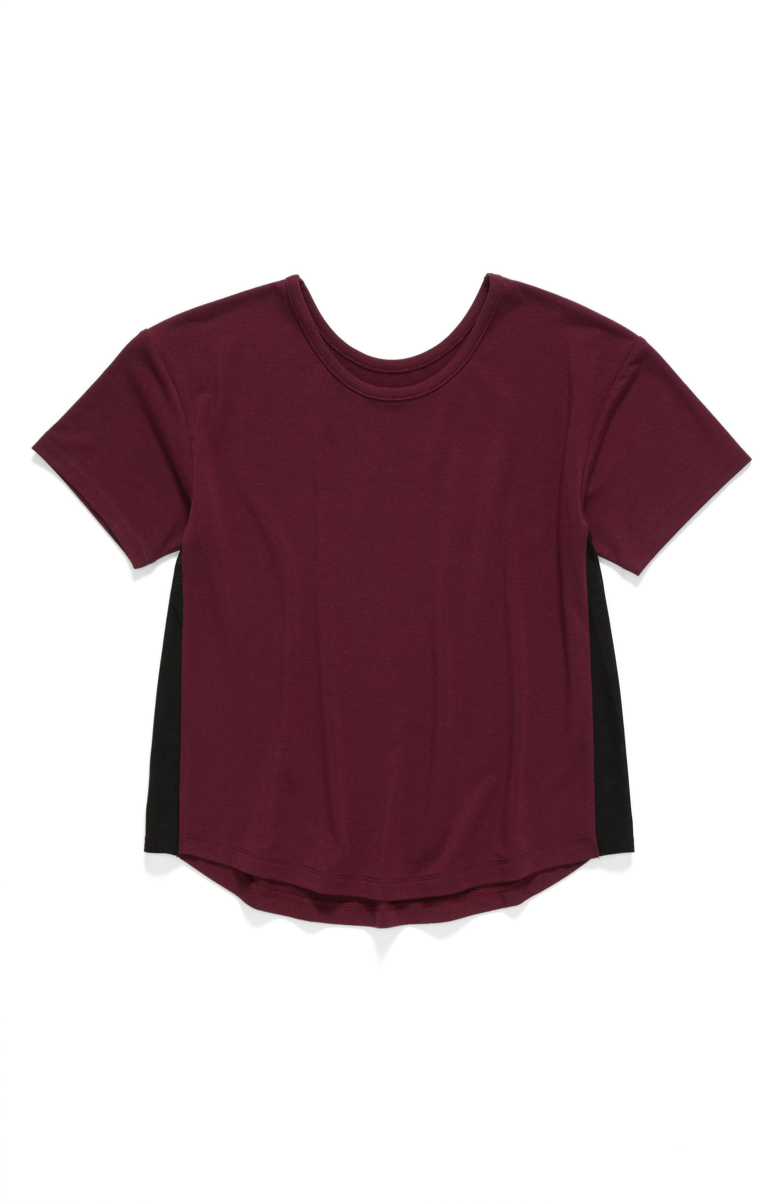 Zella Girl Side Mesh Tee (Little Girls & Big Girls)
