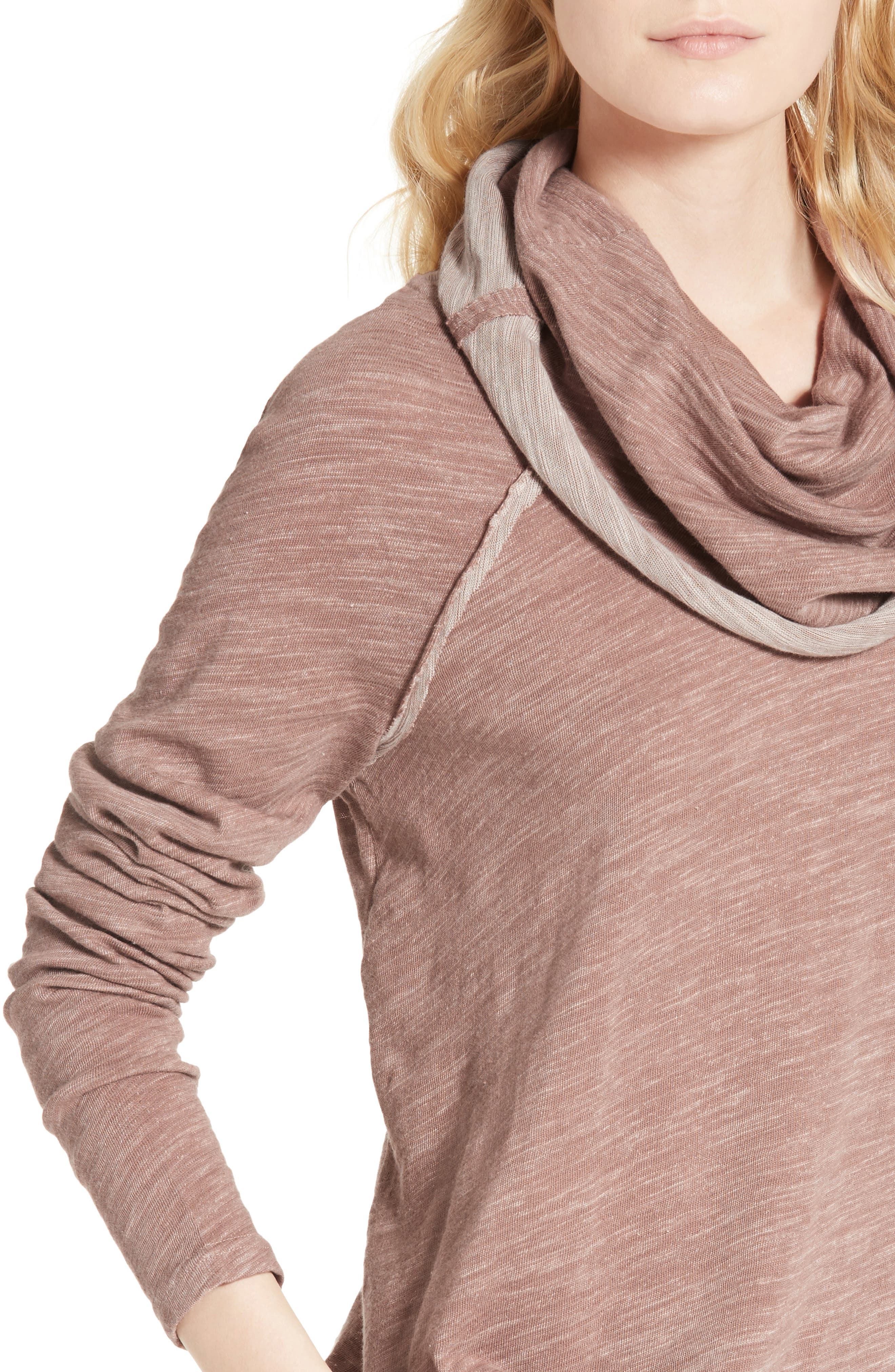 Alternate Image 4  - Free People 'Beach Cocoon' Cowl Neck Pullover