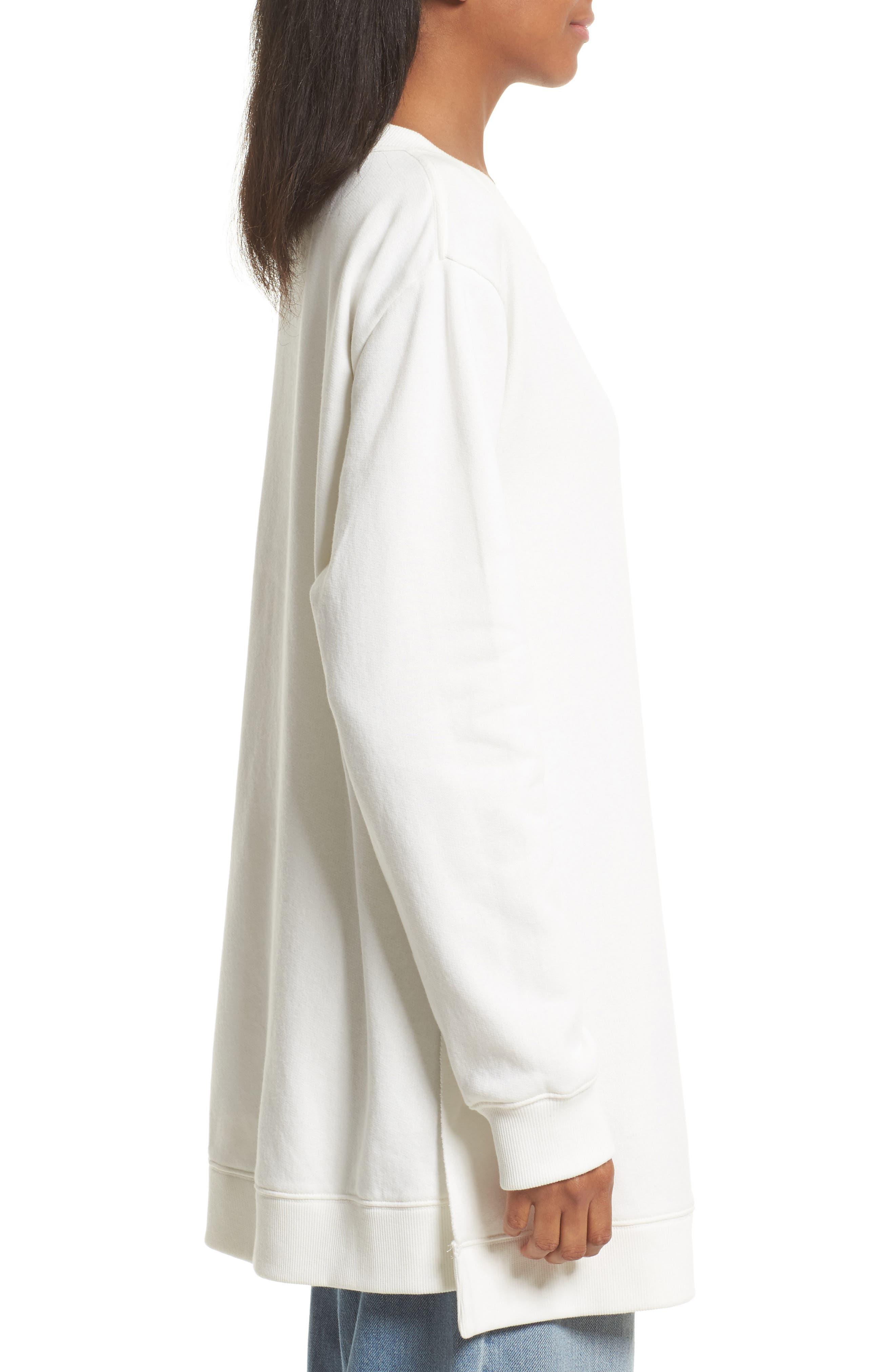 Alternate Image 3  - MM6 Maison Margiela Oversize Sweatshirt