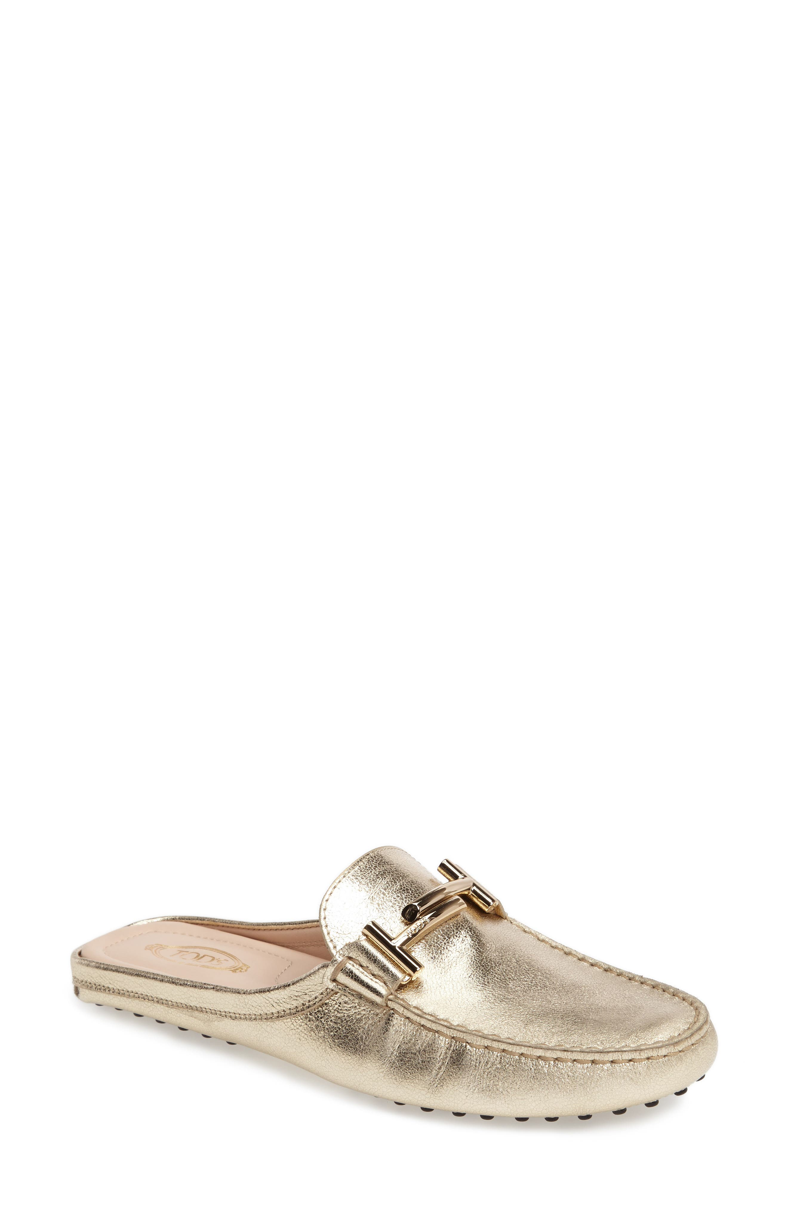Tod's Gommino Double-T Loafer Mule (Women)