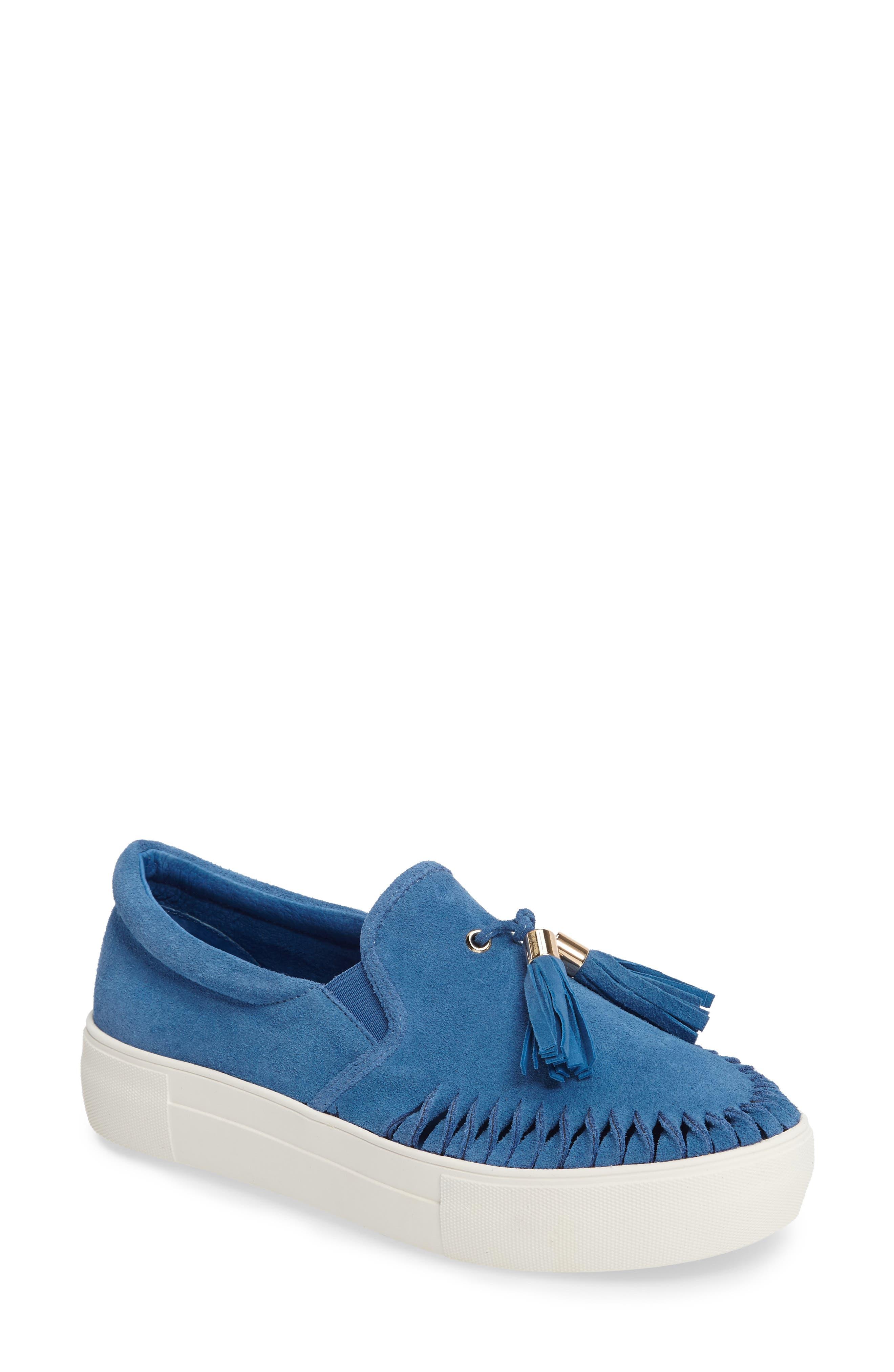 JSLIDES Tassel Slip-On Sneaker