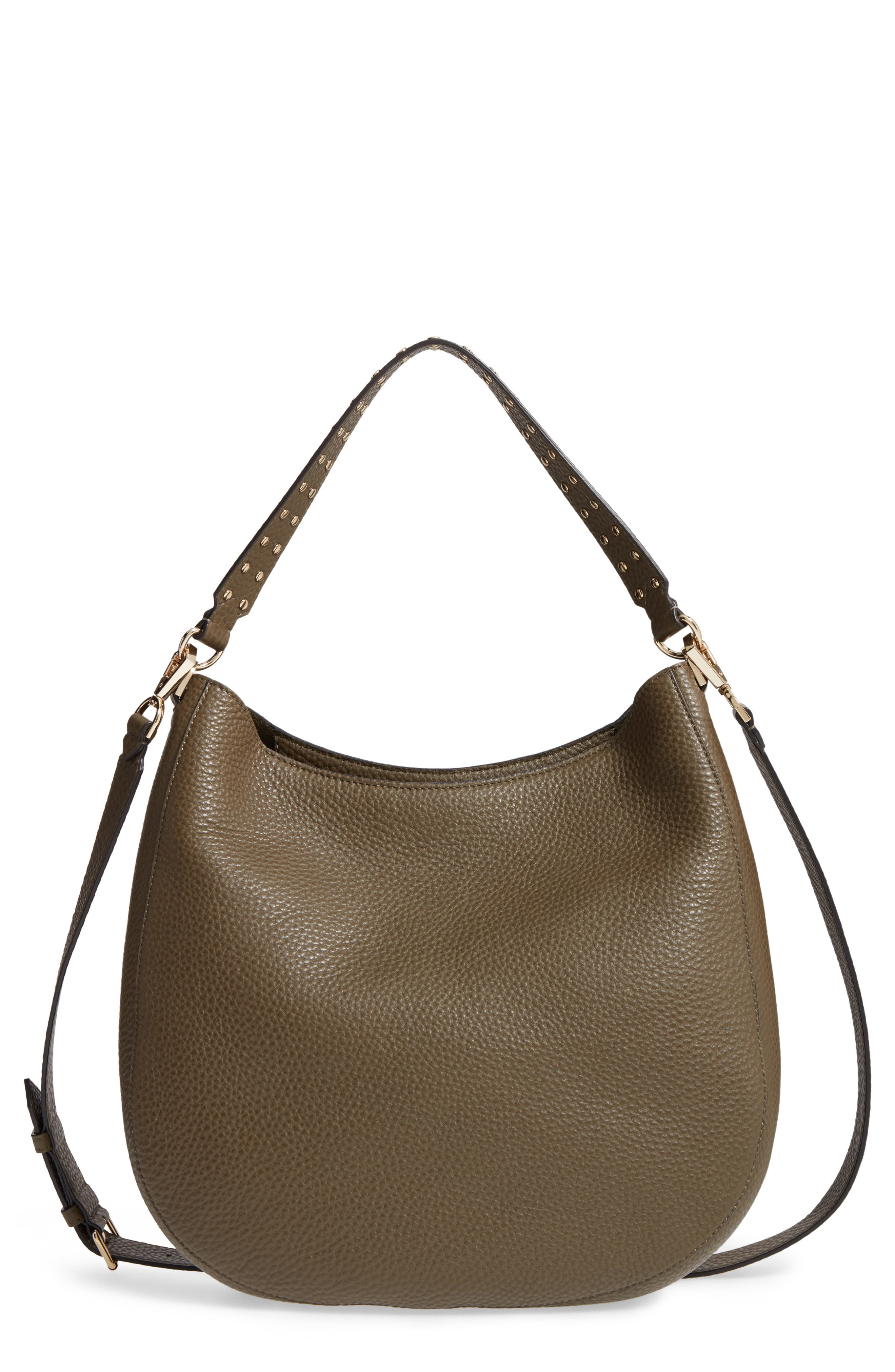 Alternate Image 1 Selected - Rebecca Minkoff Unlined Convertible Leather Hobo (Nordstrom Exclusive)