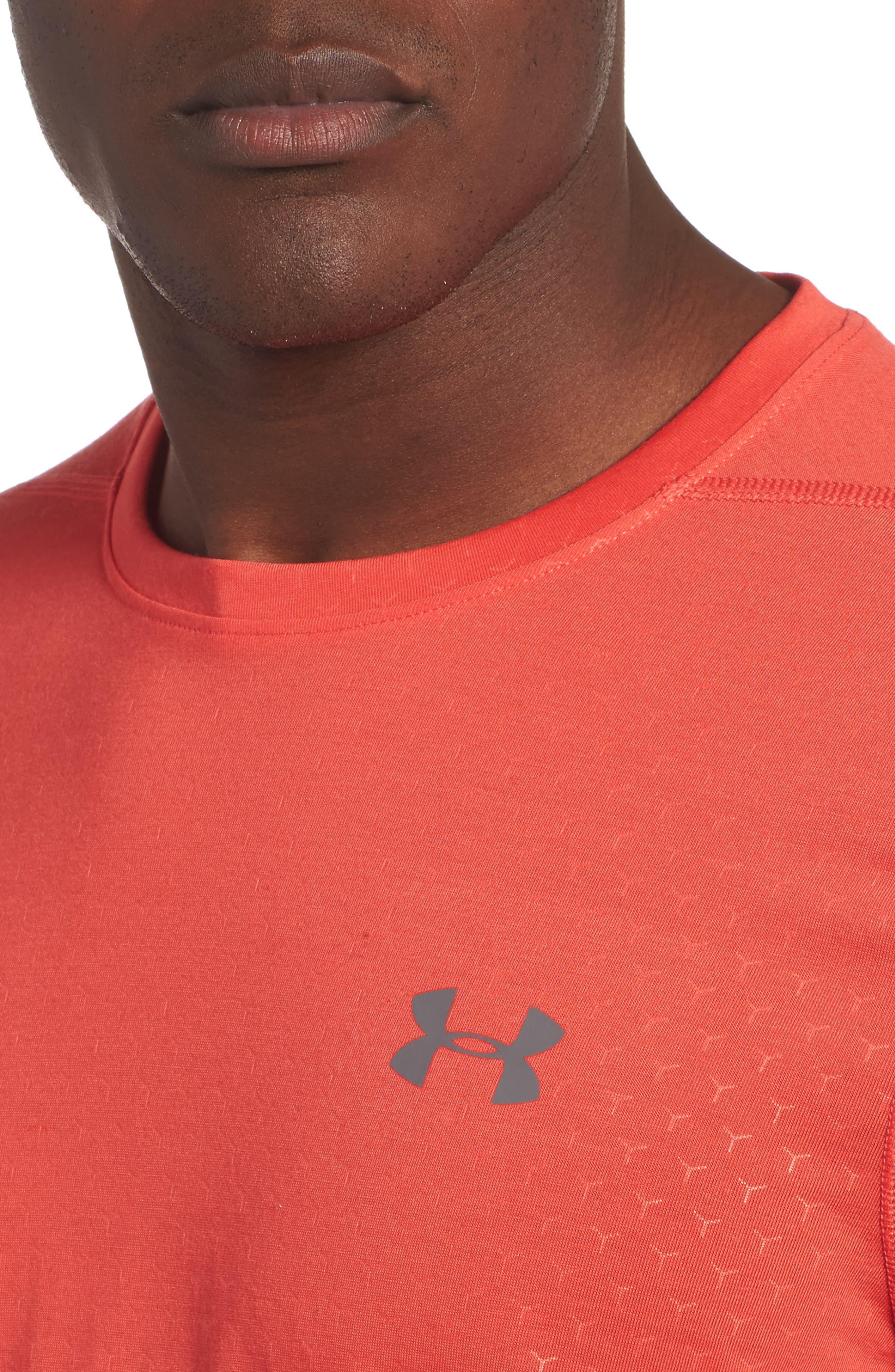 Alternate Image 4  - Under Armour Threadborne Siro Regular Fit T-Shirt