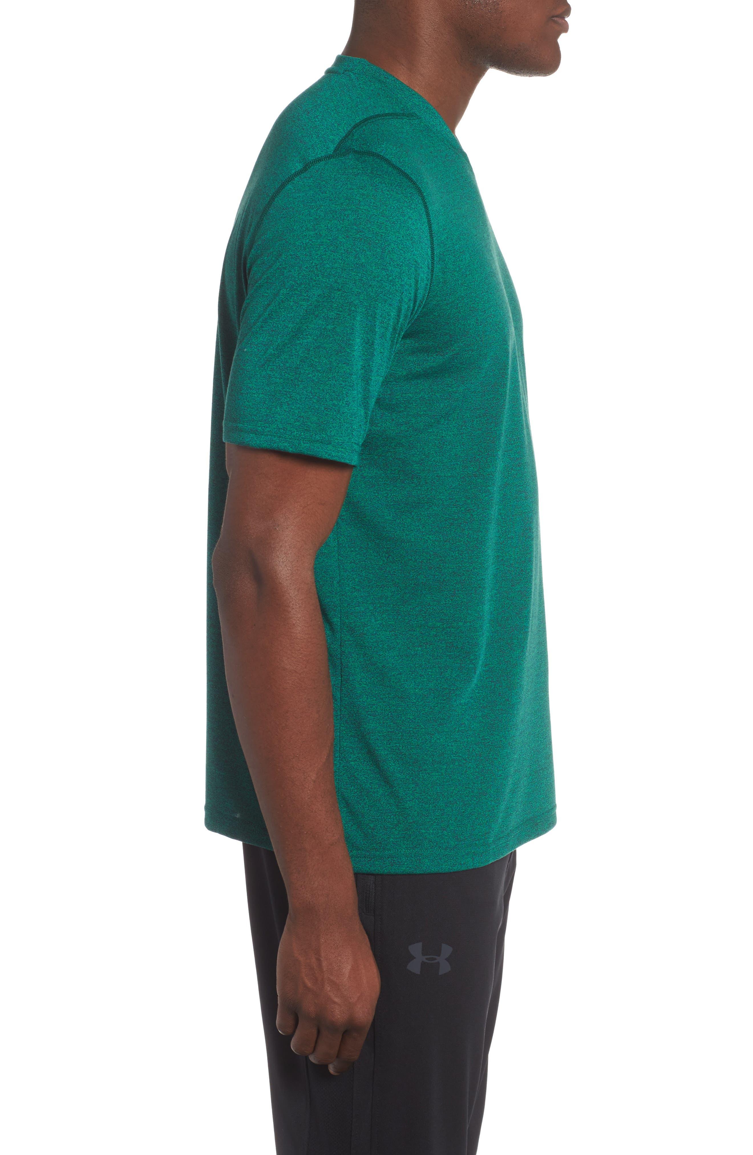 Threadborne Siro Regular Fit T-Shirt,                             Alternate thumbnail 3, color,                             Blue Marker/ Vapor Green