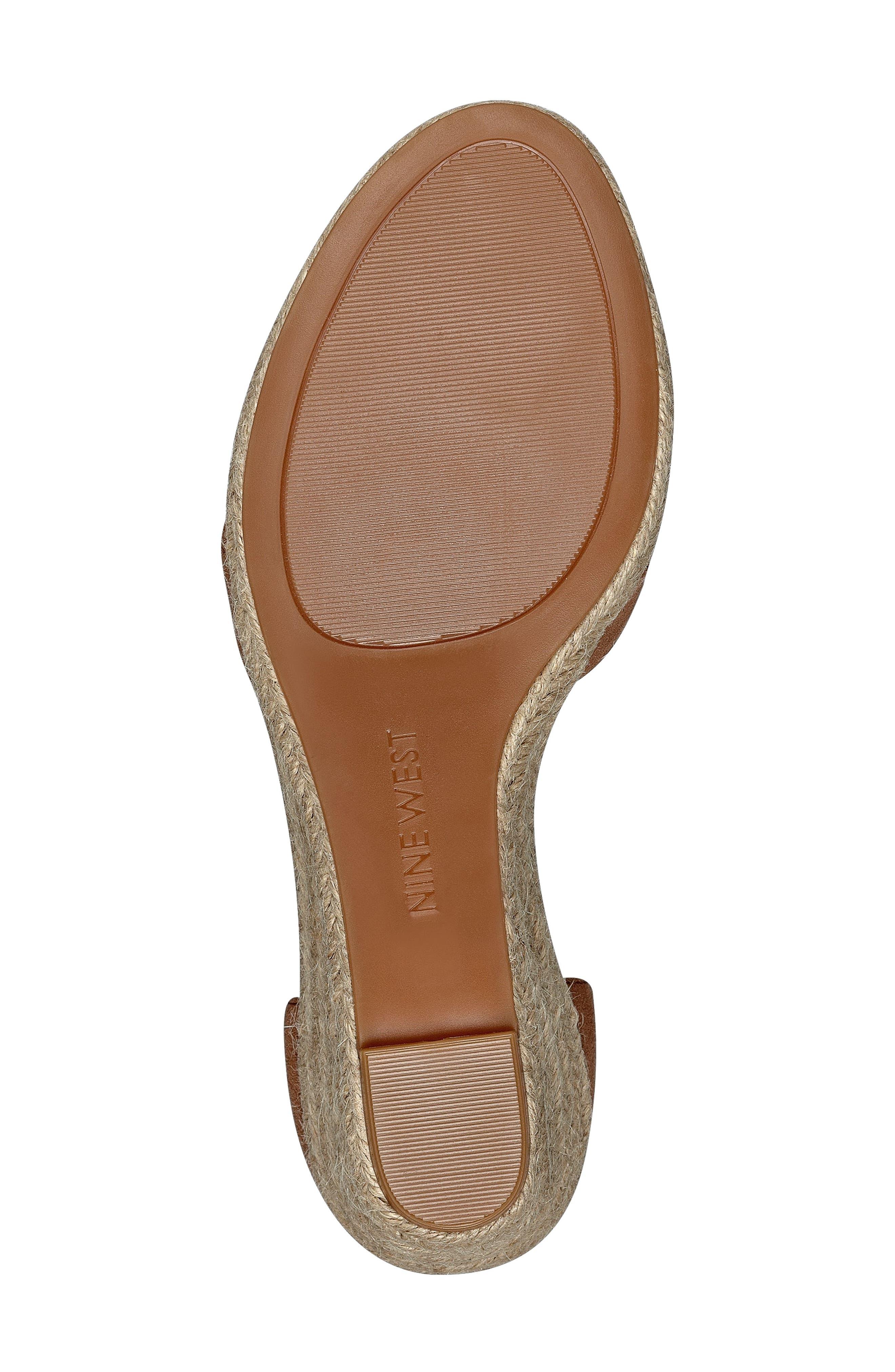 Alternate Image 4  - Nine West Jabrina Wedge Sandal (Women)