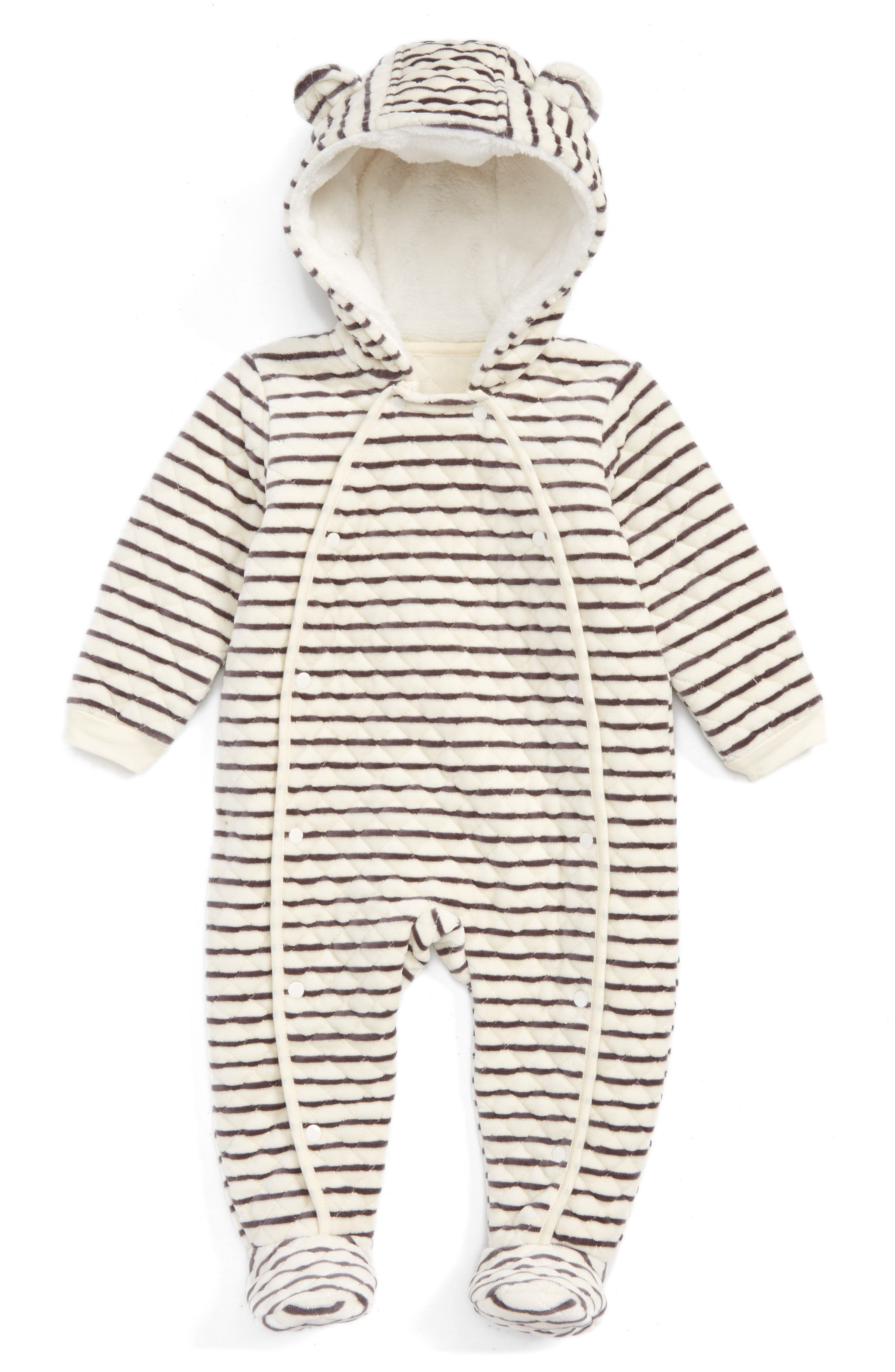 Main Image - Nordstrom Baby Hooded Bunting (Baby)