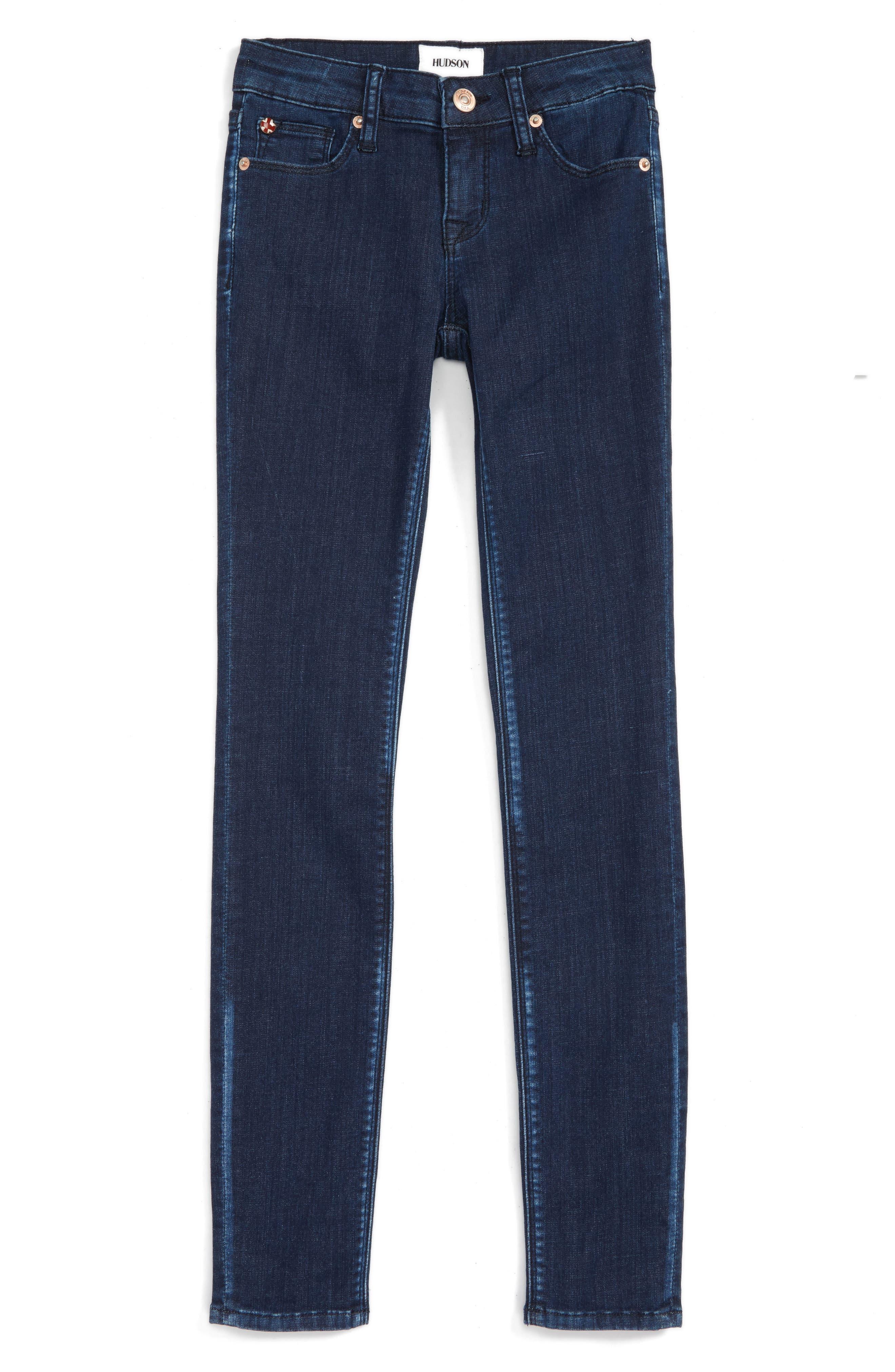 Alternate Image 1 Selected - Hudson Kids Dolly Skinny Jeans (Big Girls)