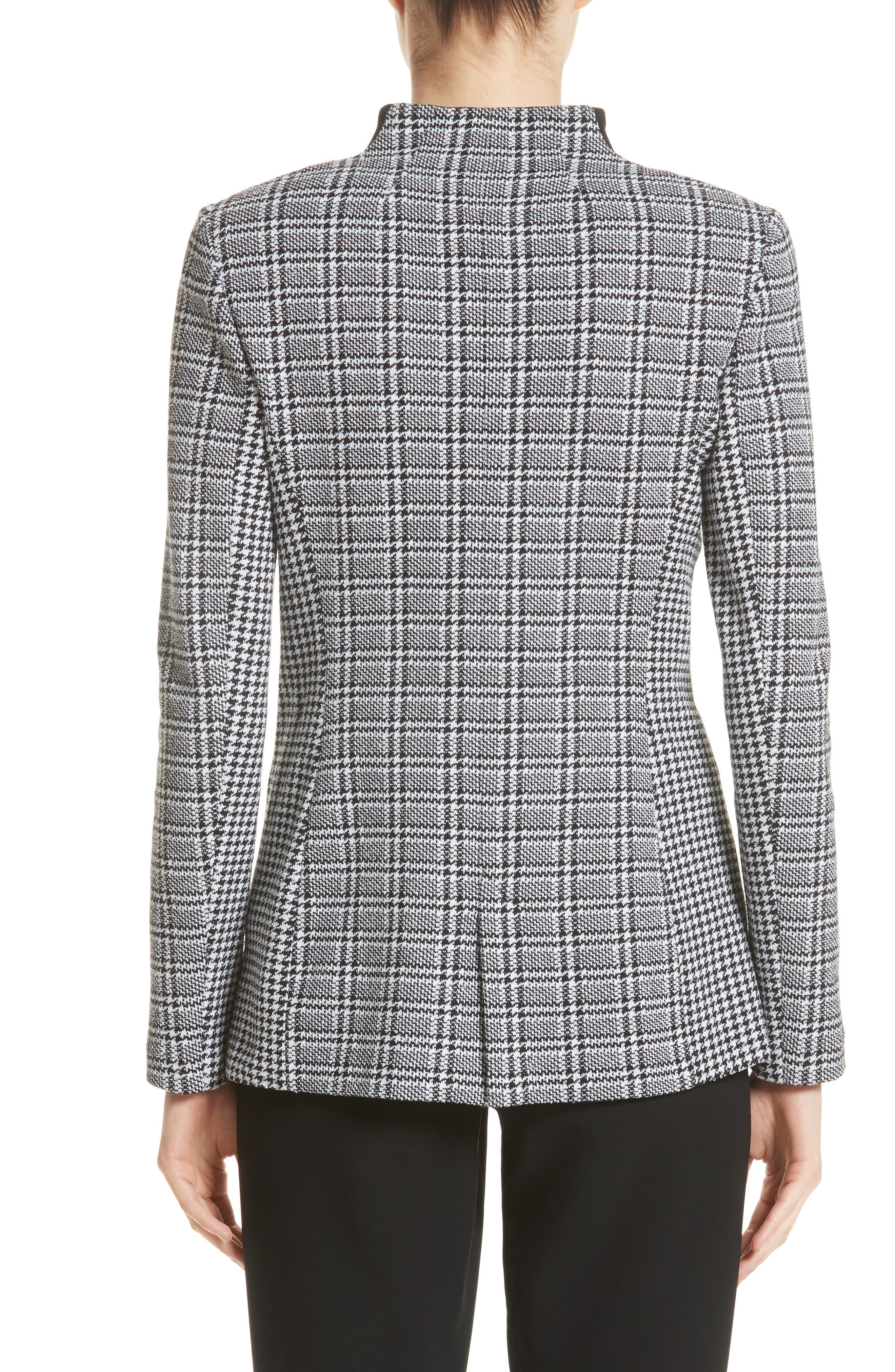 Alternate Image 2  - St. John Collection Mini Houndstooth Plaid Jacket