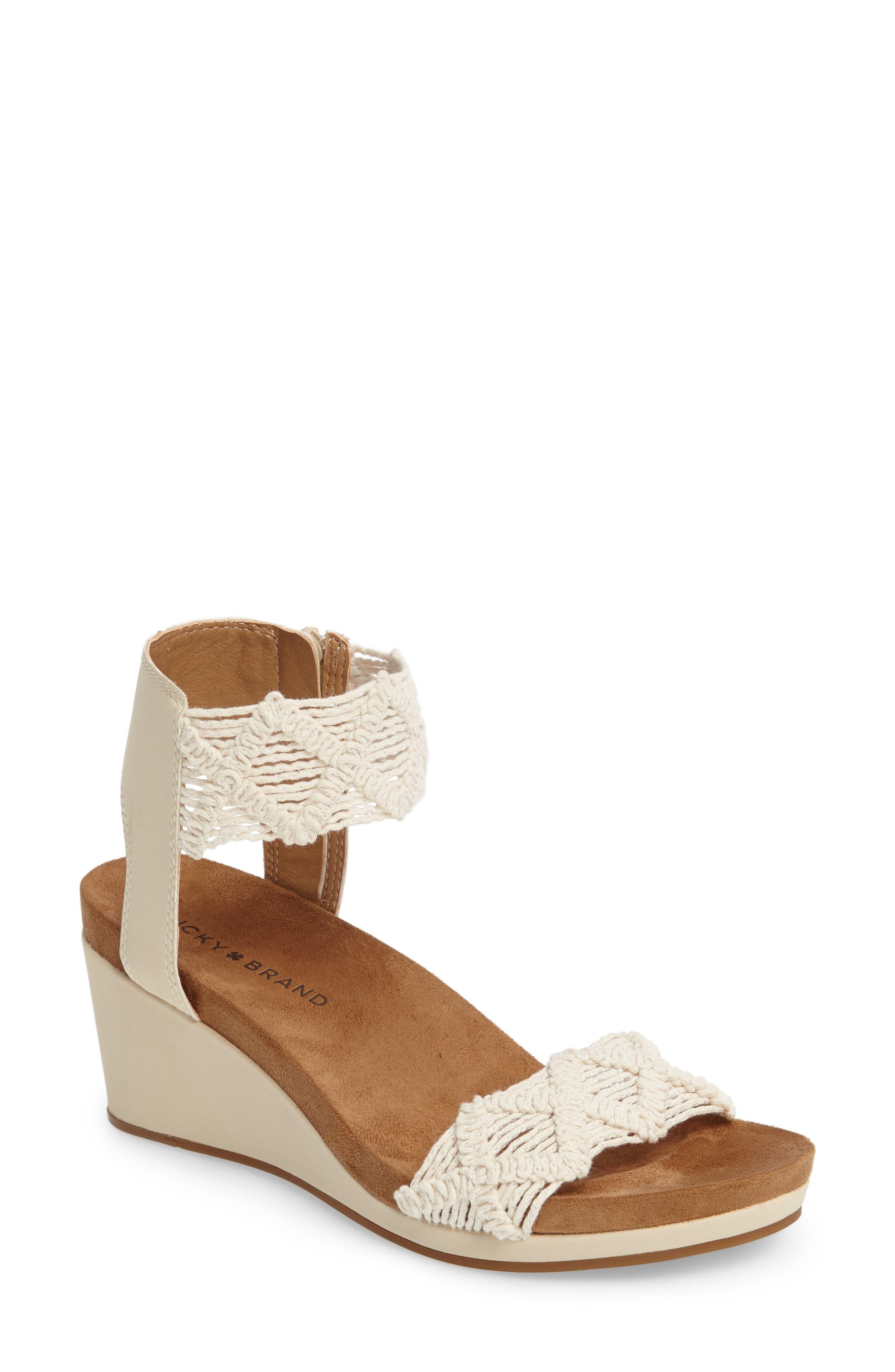 Lucky Brand Kierlo Wedge Sandal (Women)