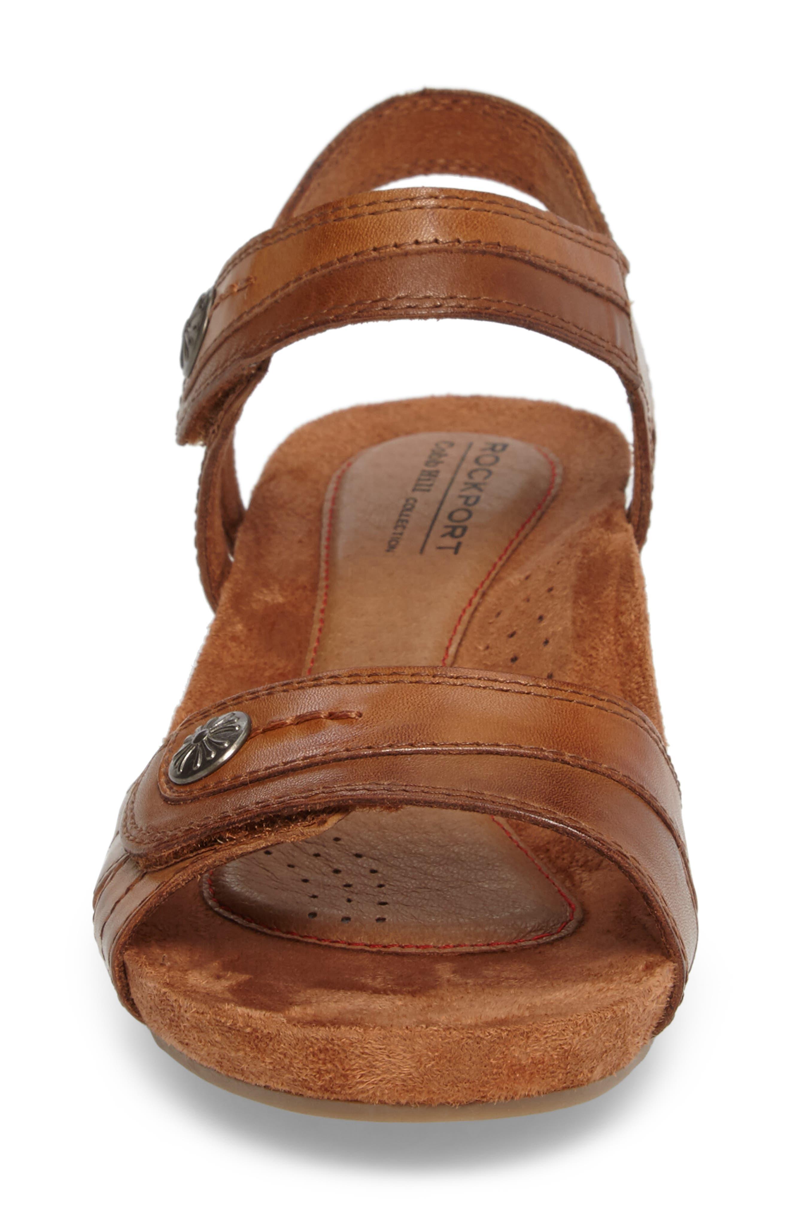 Alternate Image 4  - Rockport Cobb Hill Hollywood Wedge Sandal (Women)
