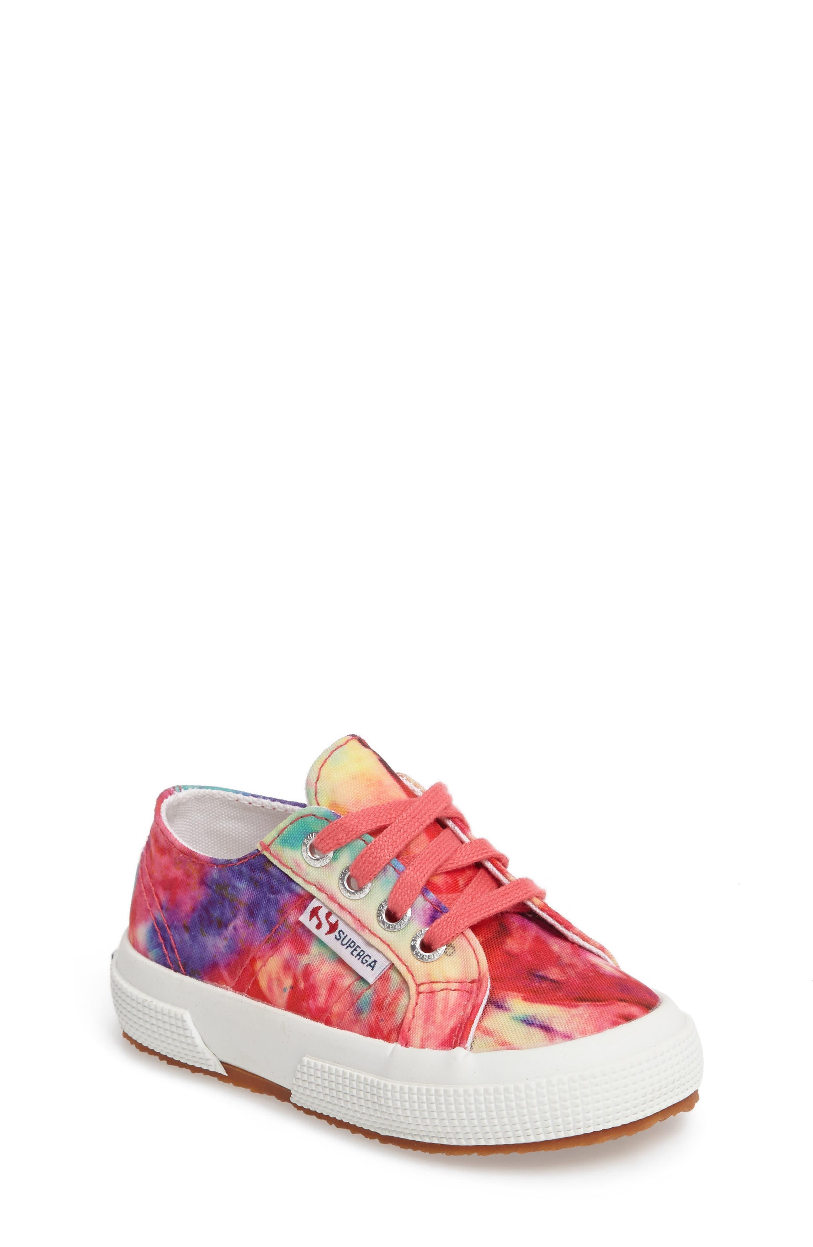 Alternate Image 1 Selected - Superga Tie Dye Classic Sneaker (Walker, Toddler & Little Kid)