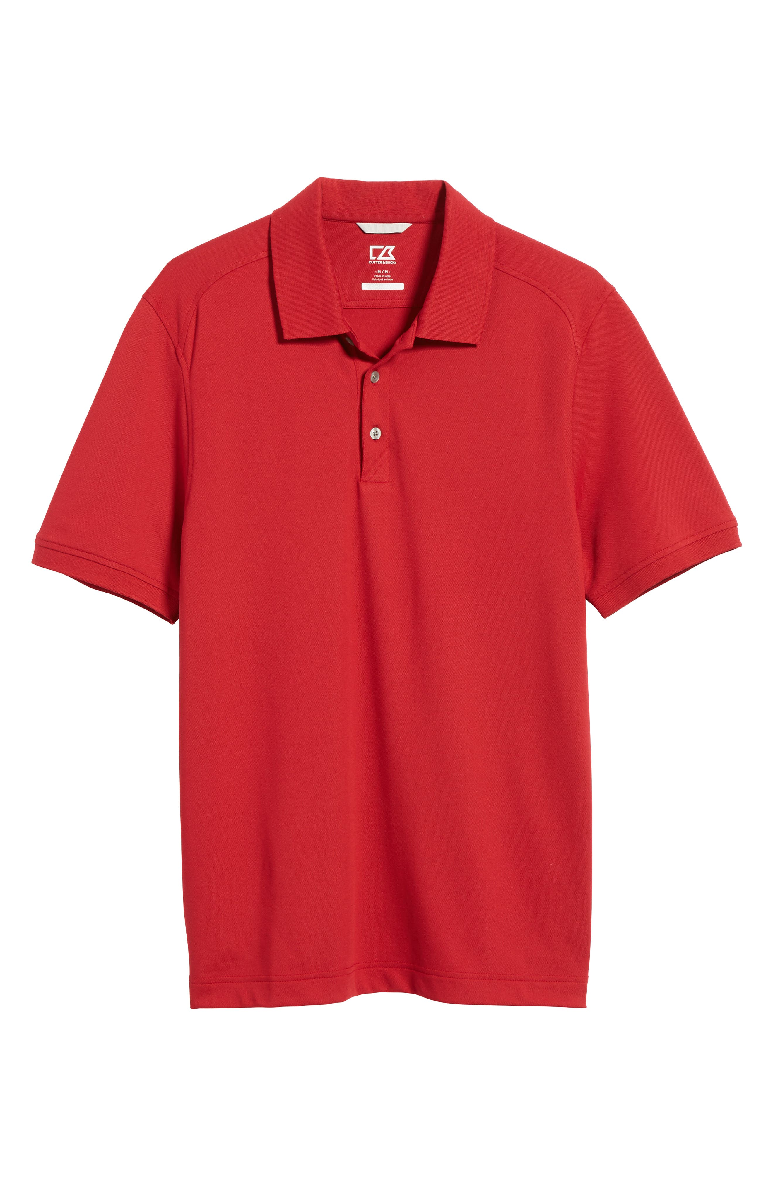 Advantage Golf Polo,                             Alternate thumbnail 6, color,                             Card Red