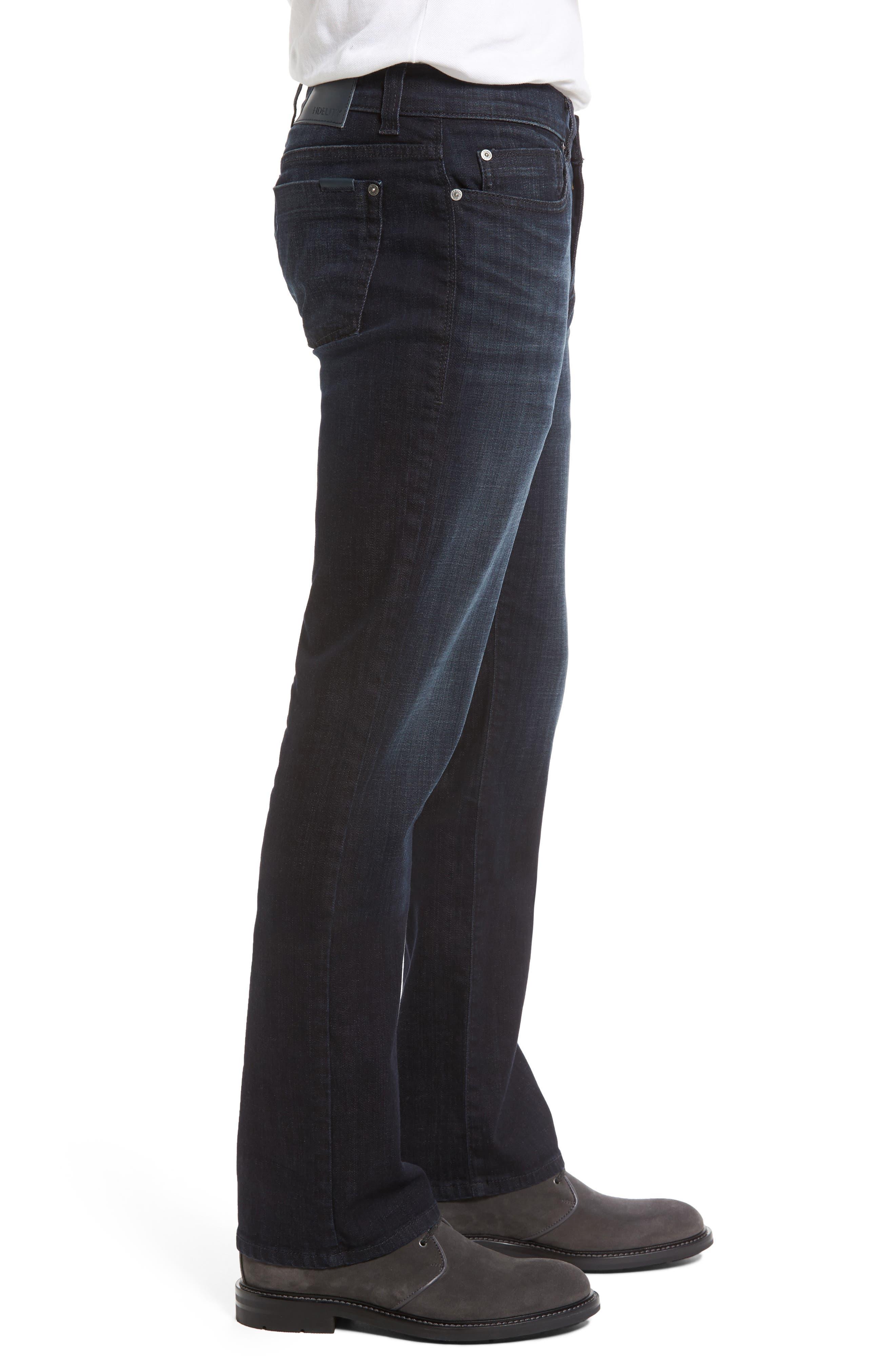 Alternate Image 3  - Fidelity Denim 5011 Relaxed Fit Jeans (Harvard)