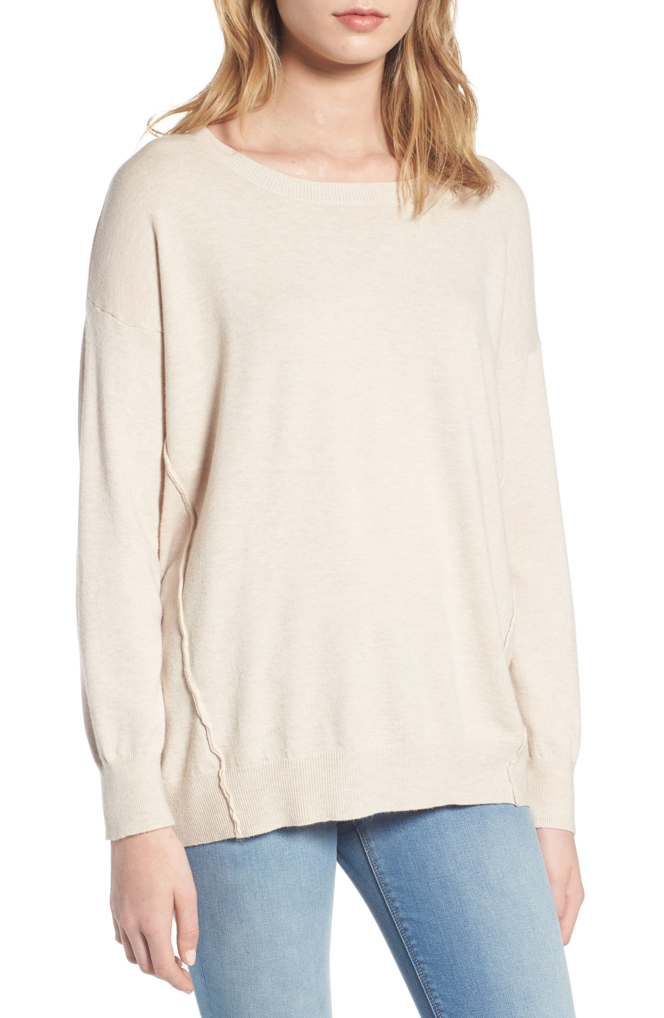 Dreamers by Debut Forward Seam Tunic Sweater