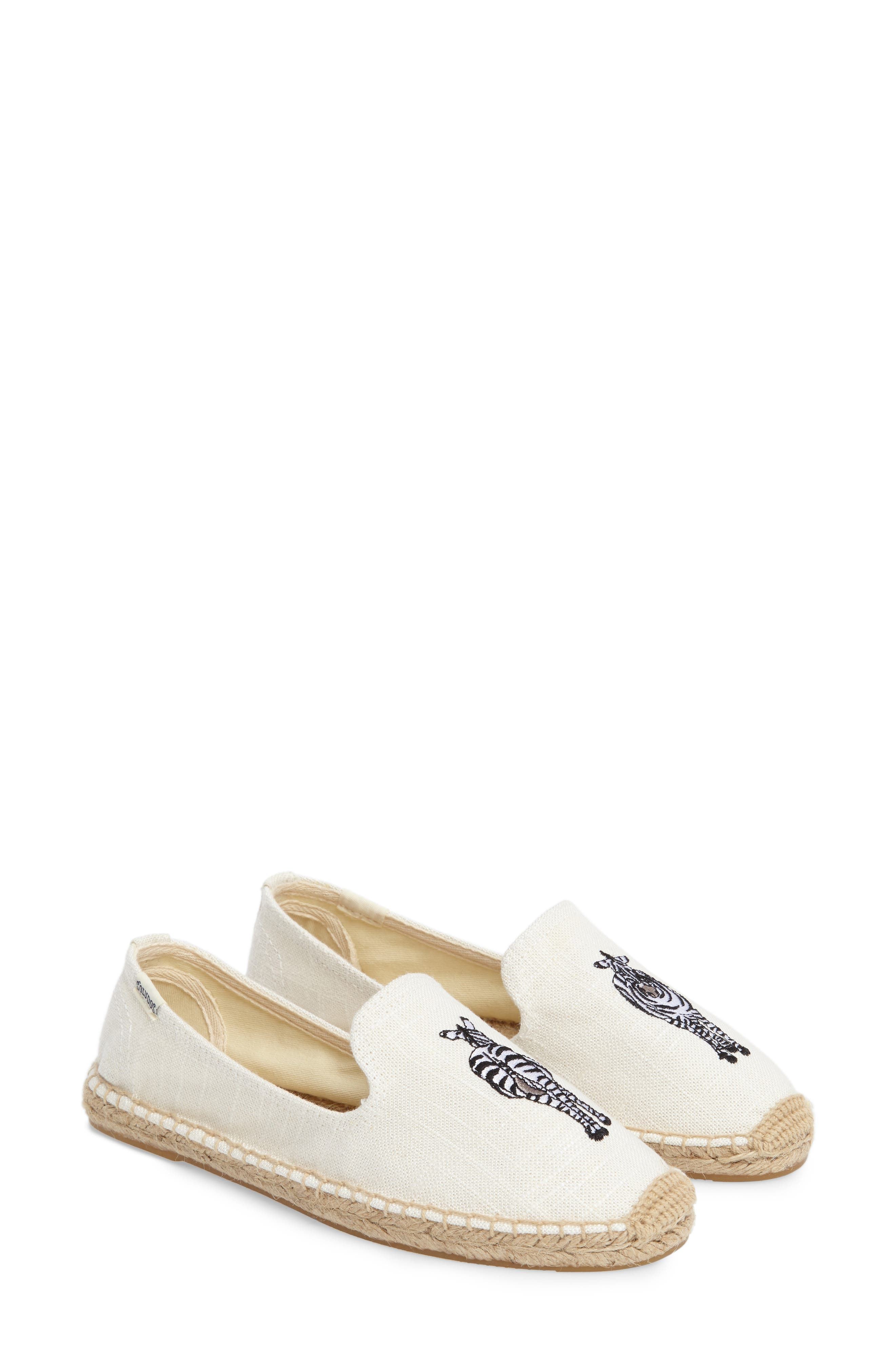 Alternate Image 2  - Soludos Embroidered Espadrille Slip-On (Women)