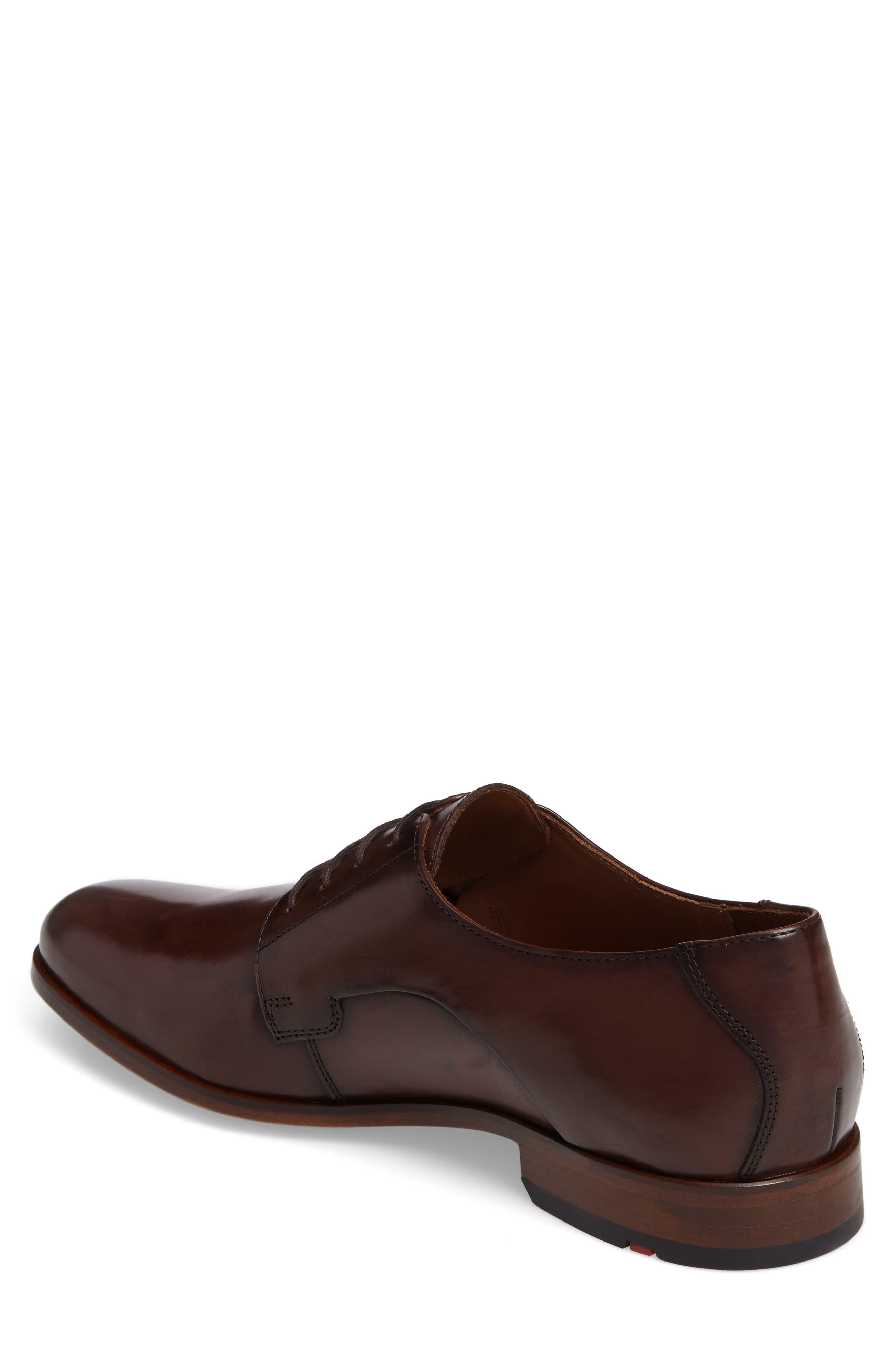 Mannex Plain Toe Derby,                             Alternate thumbnail 2, color,                             T.D.Moro Leather