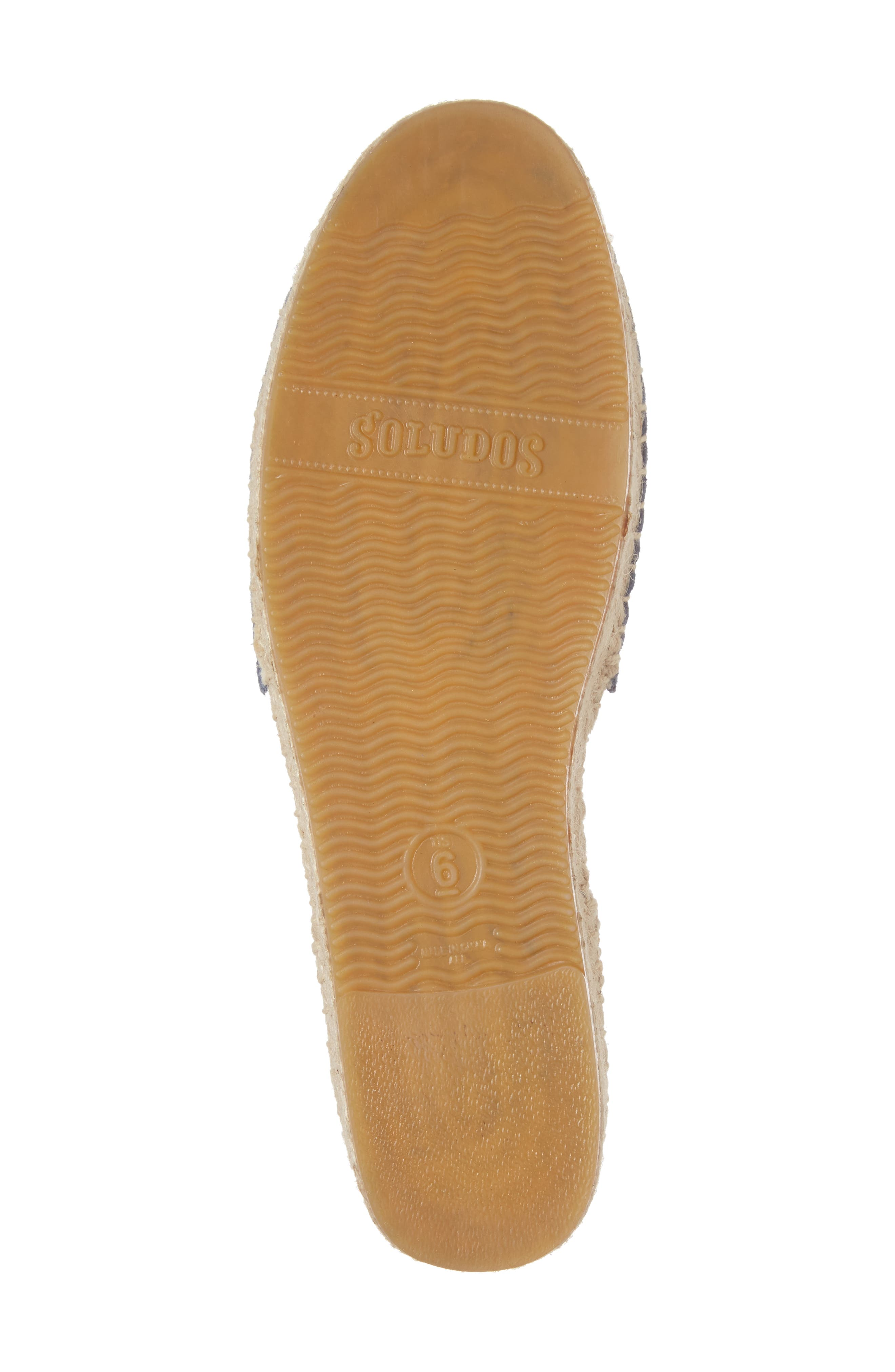 Alternate Image 6  - Soludos Tassel Lace-Up Espadrille (Women)