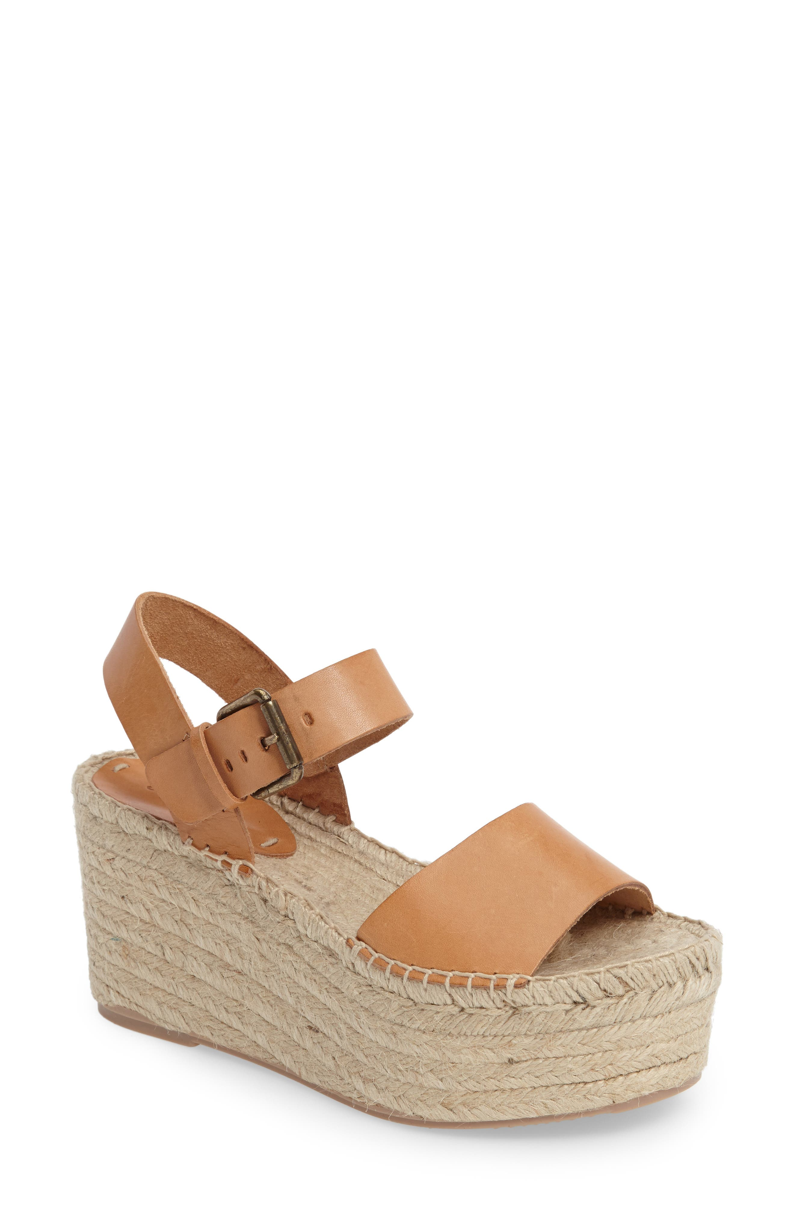 Alternate Image 1 Selected - Soludos Platform Wedge Sandal (Women)