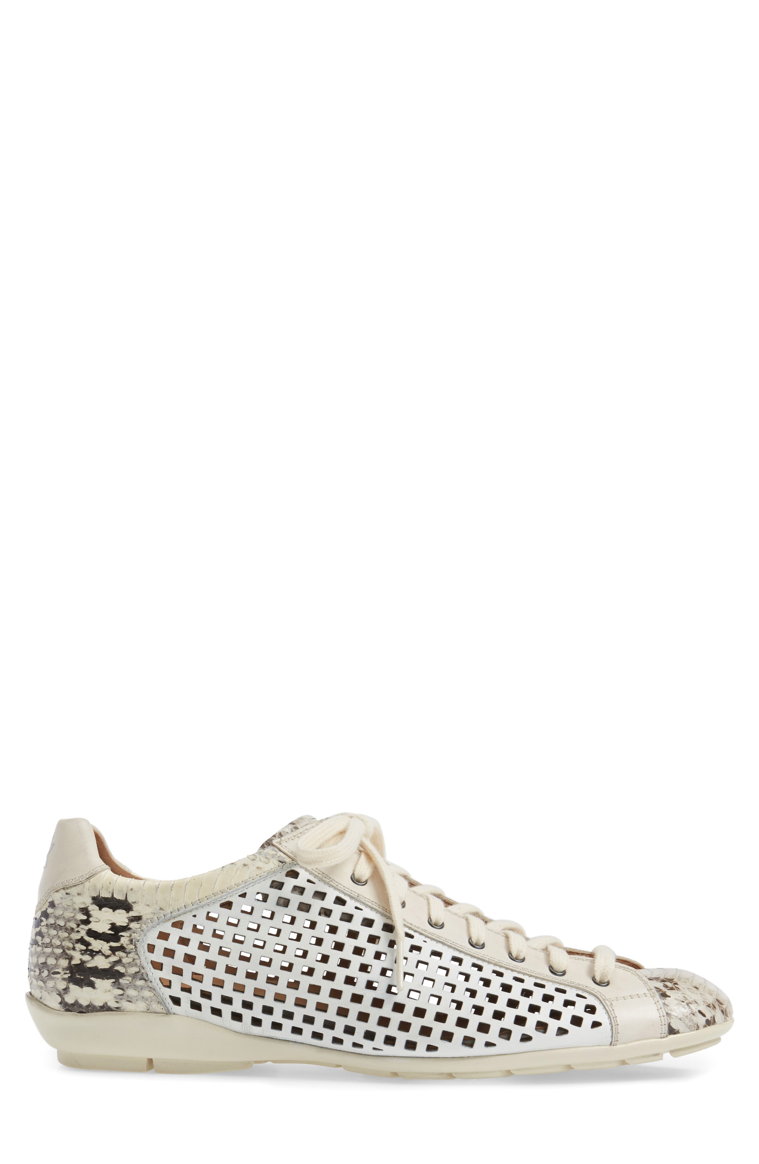 Scharf Sneaker,                             Alternate thumbnail 3, color,                             Bone