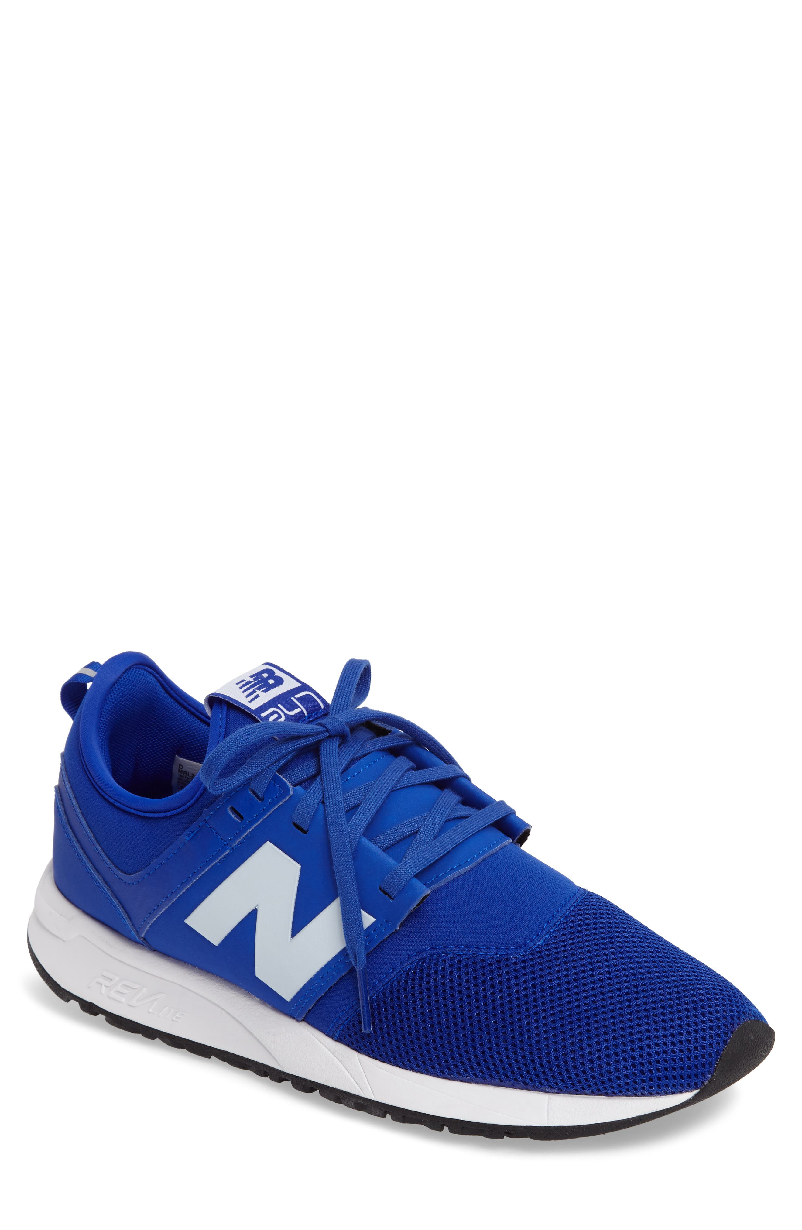 new balance 247 men blue
