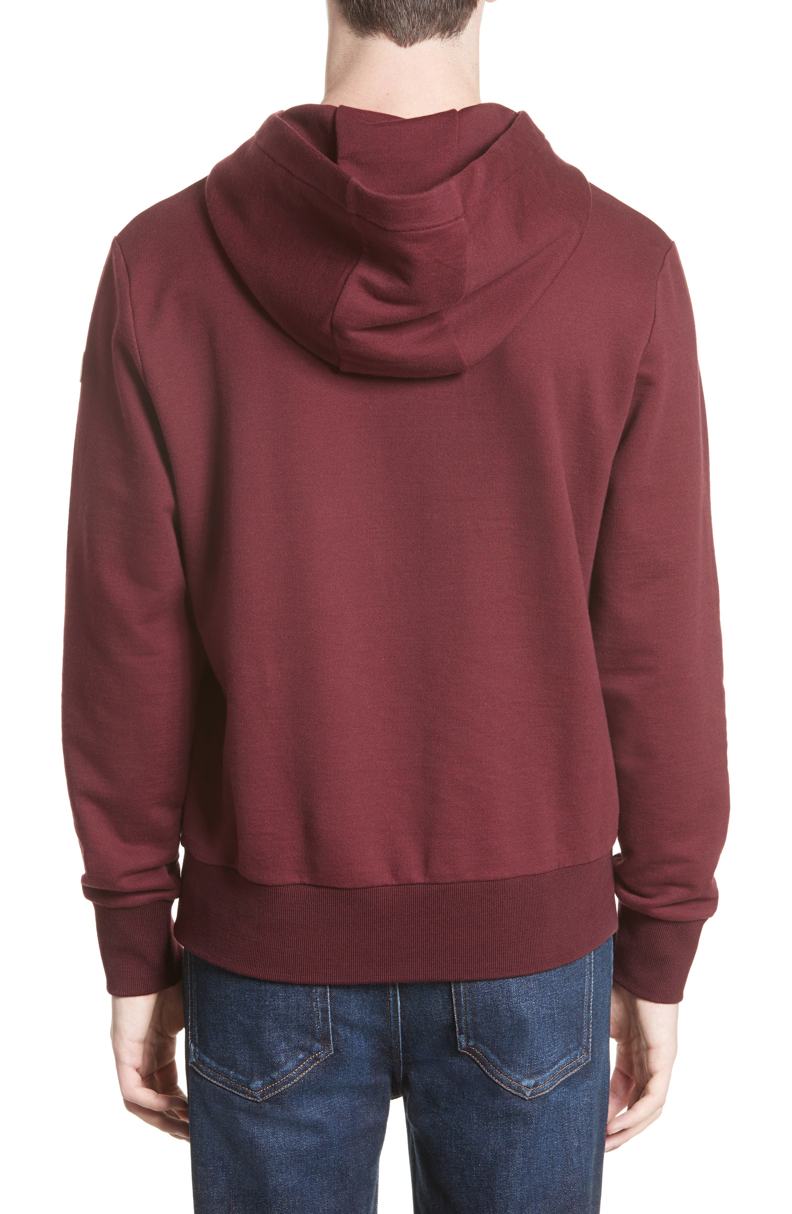 Logo Graphic Hoodie,                             Alternate thumbnail 2, color,                             Pink