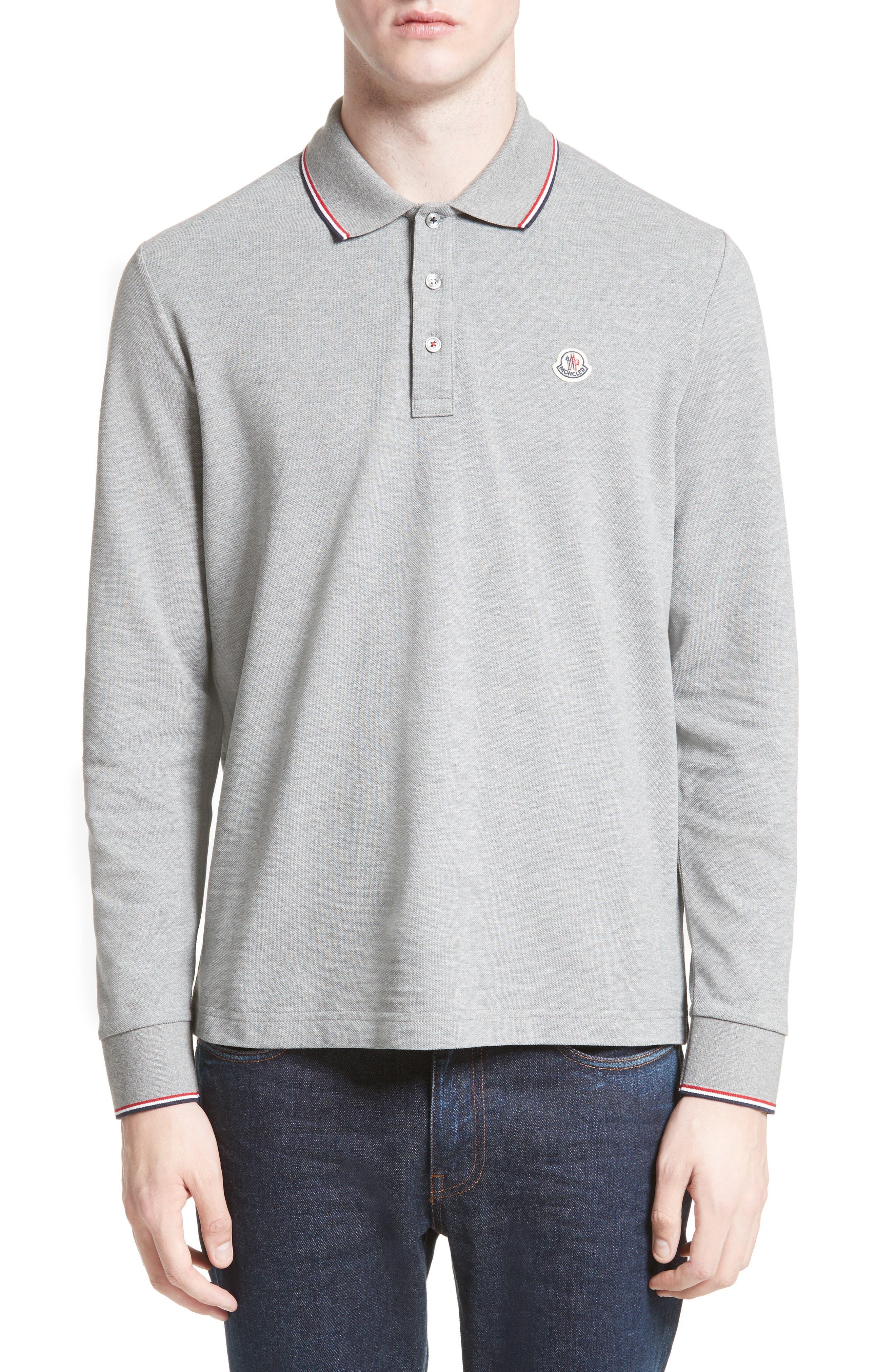 Moncler Maglia Long Sleeve Polo