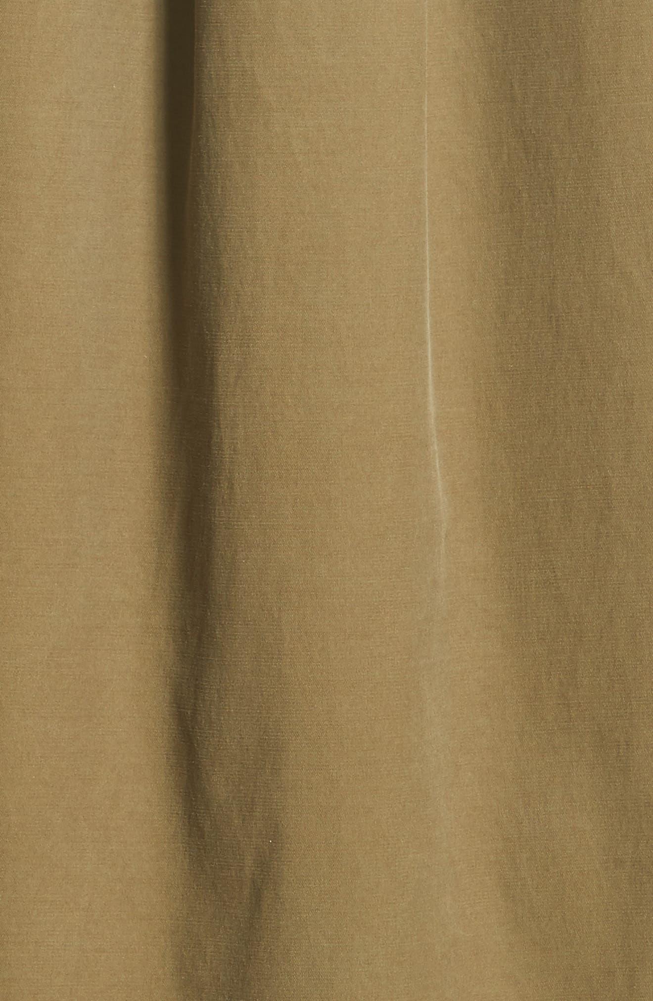 Mason Shirtdress,                             Alternate thumbnail 5, color,                             Dark Olive