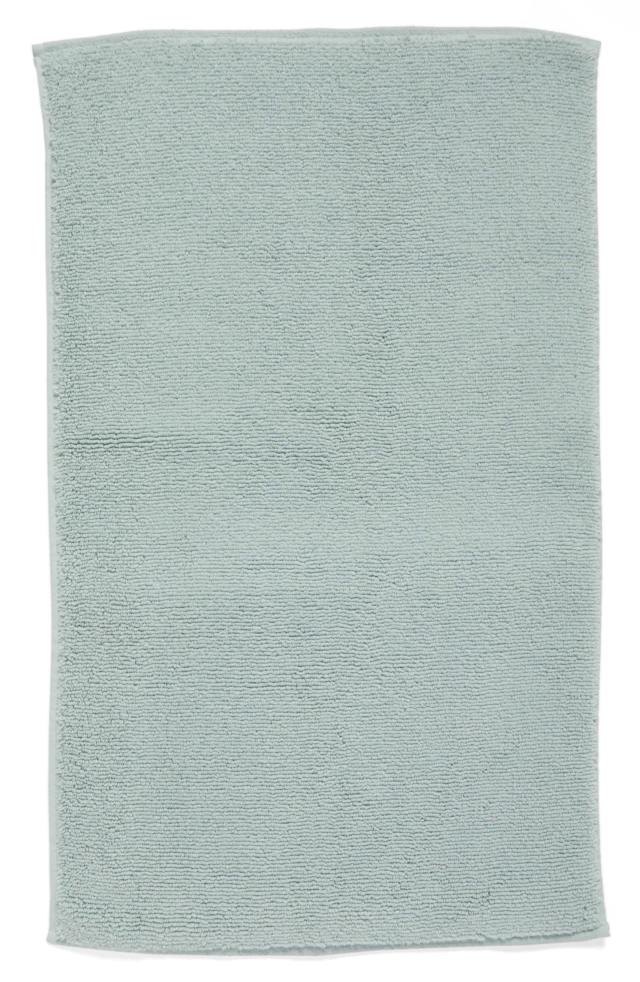 Hydrocotton Bath Mat,                         Main,                         color, Teal Mist
