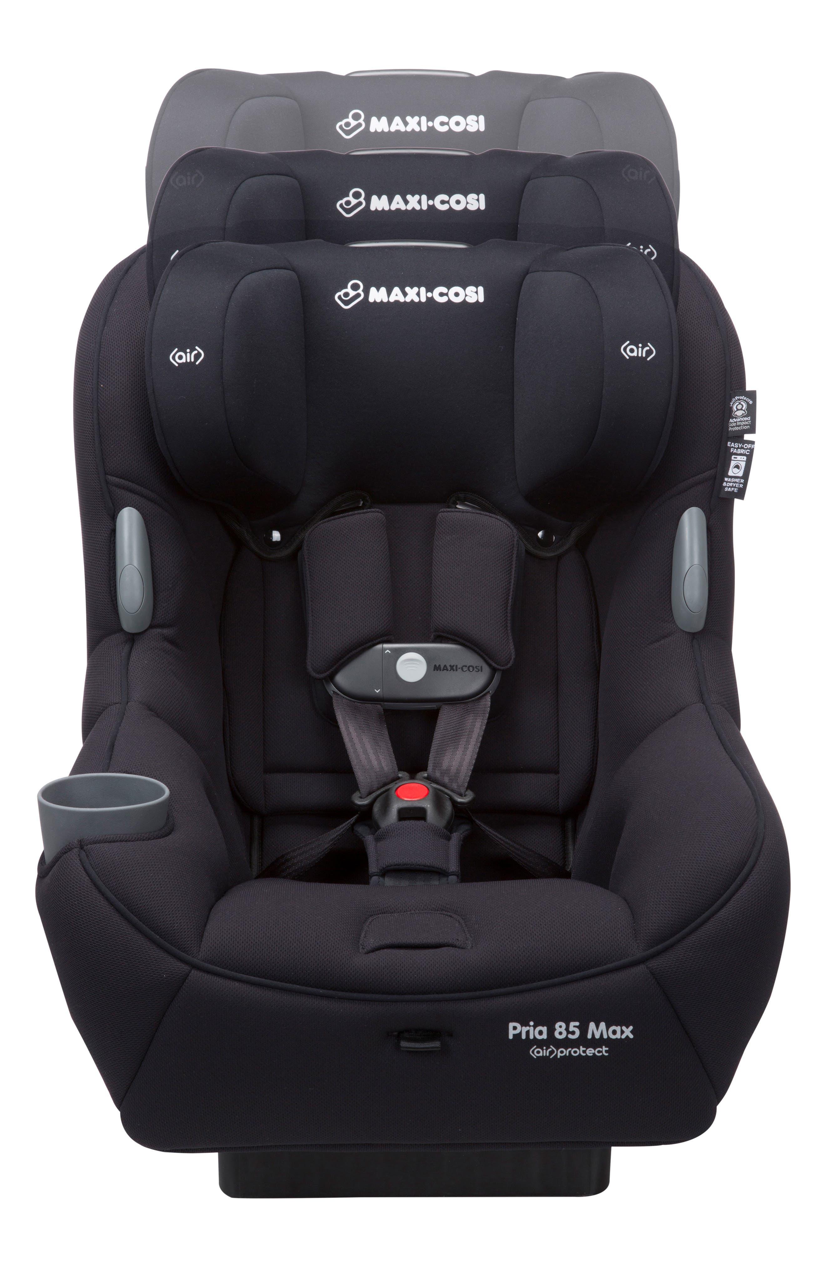 Pria<sup>™</sup> 85 Max Convertible Car Seat,                             Alternate thumbnail 6, color,                             Night Black