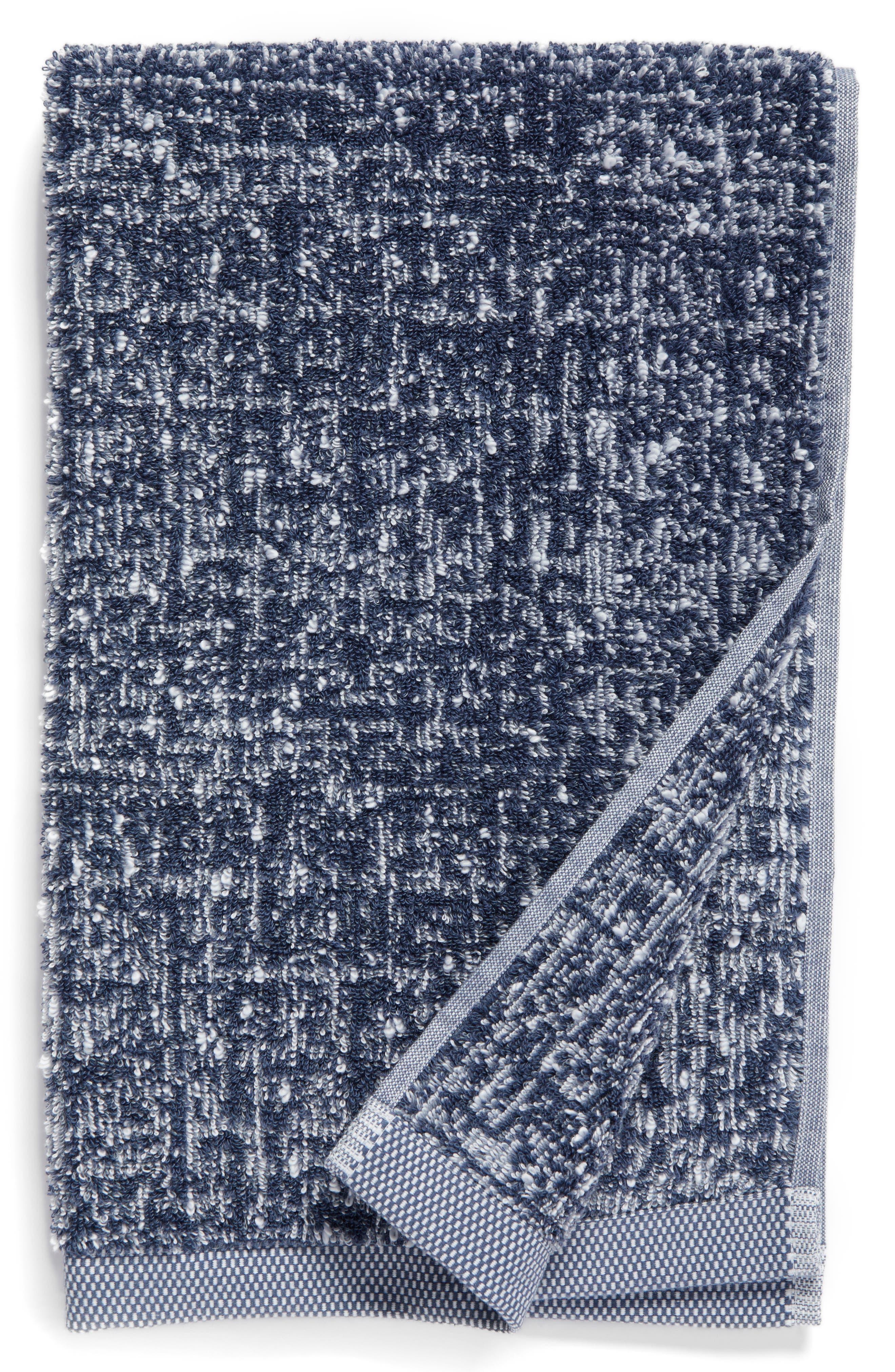 Main Image - Nordstrom at Home Tweed Jacquard Hand Towel