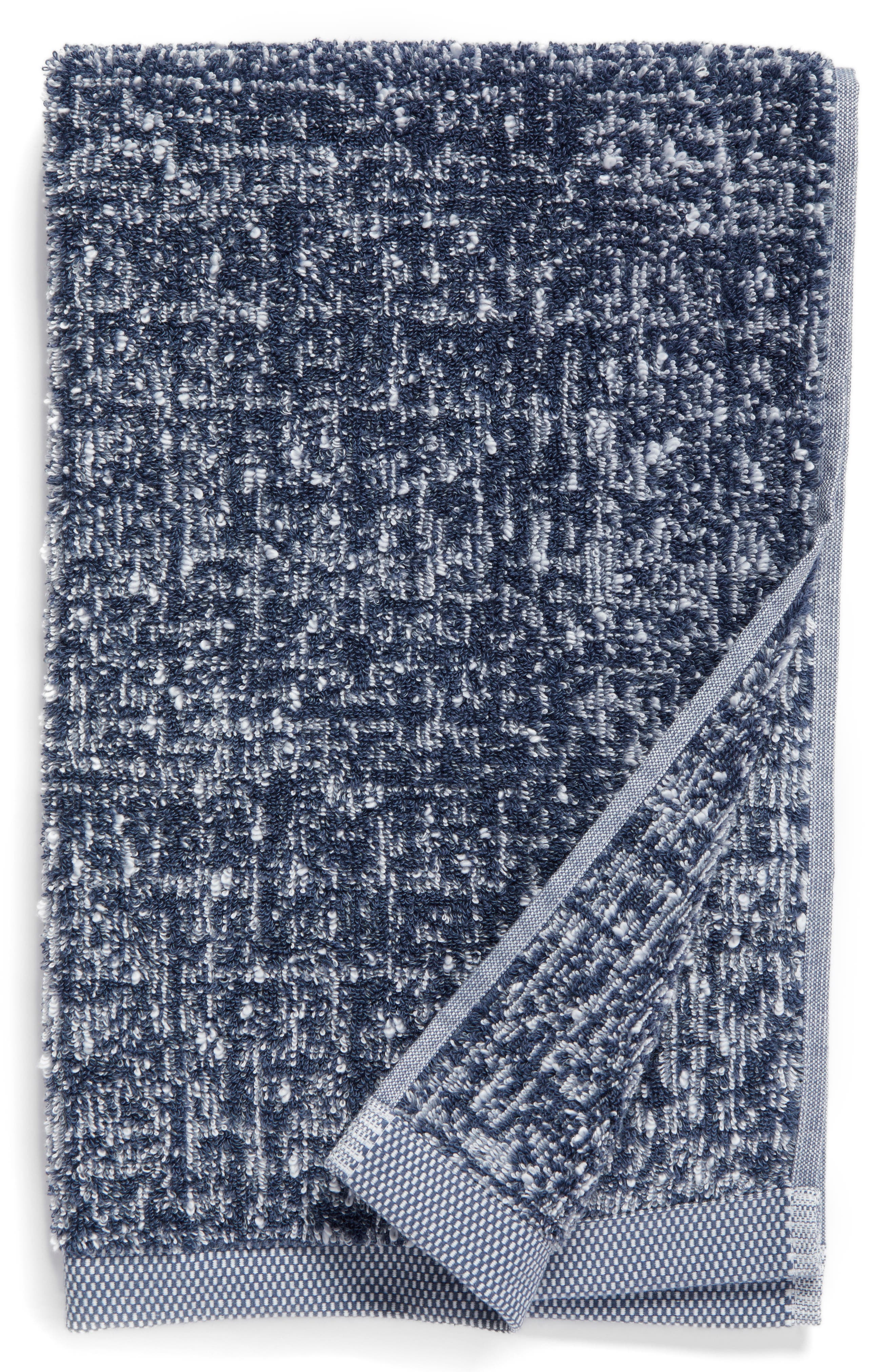 Nordstrom at Home Tweed Jacquard Hand Towel (2 for $32)