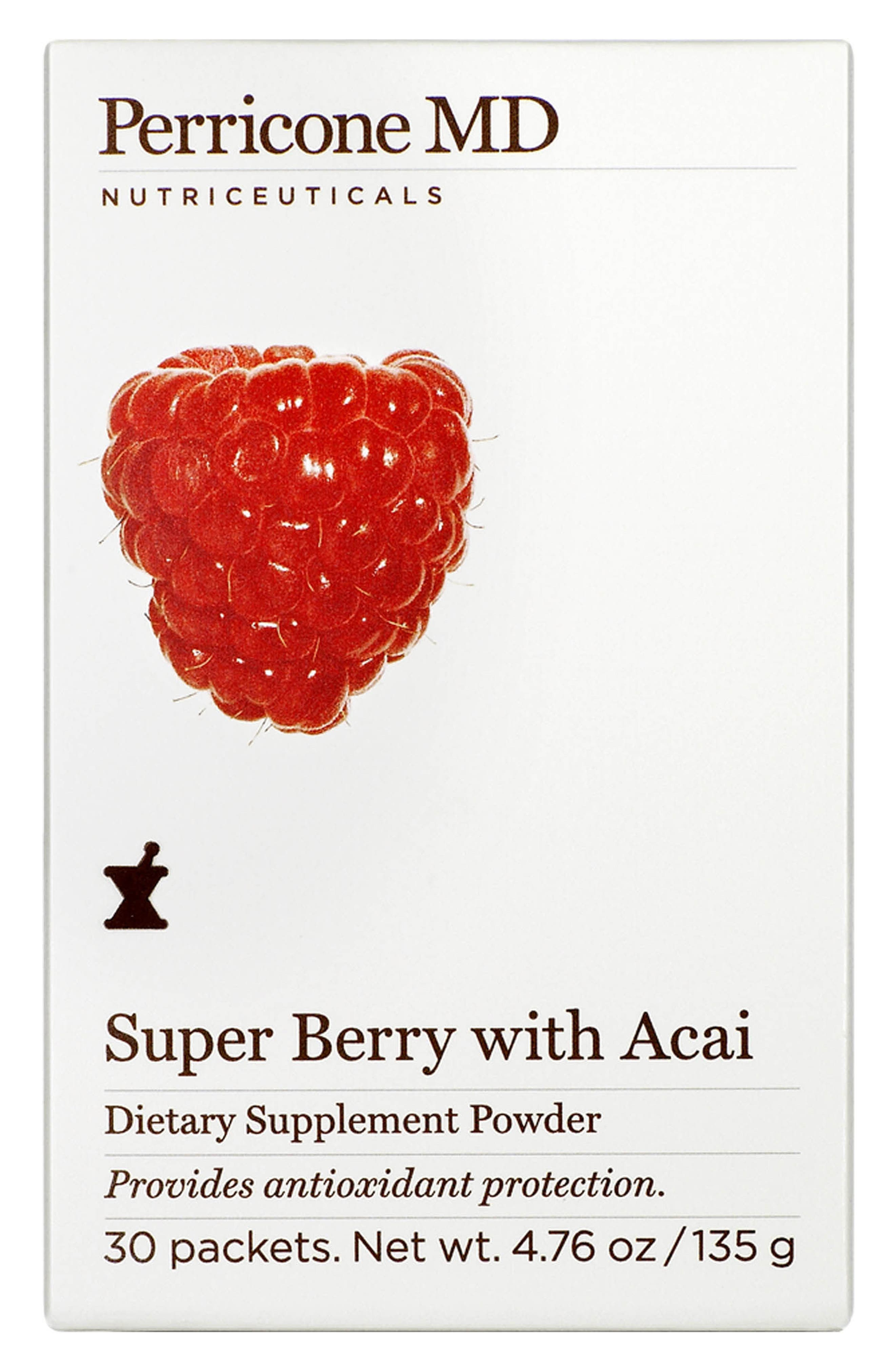 Super Berry with Acai Dietary Supplement Powder,                         Main,                         color, No Color