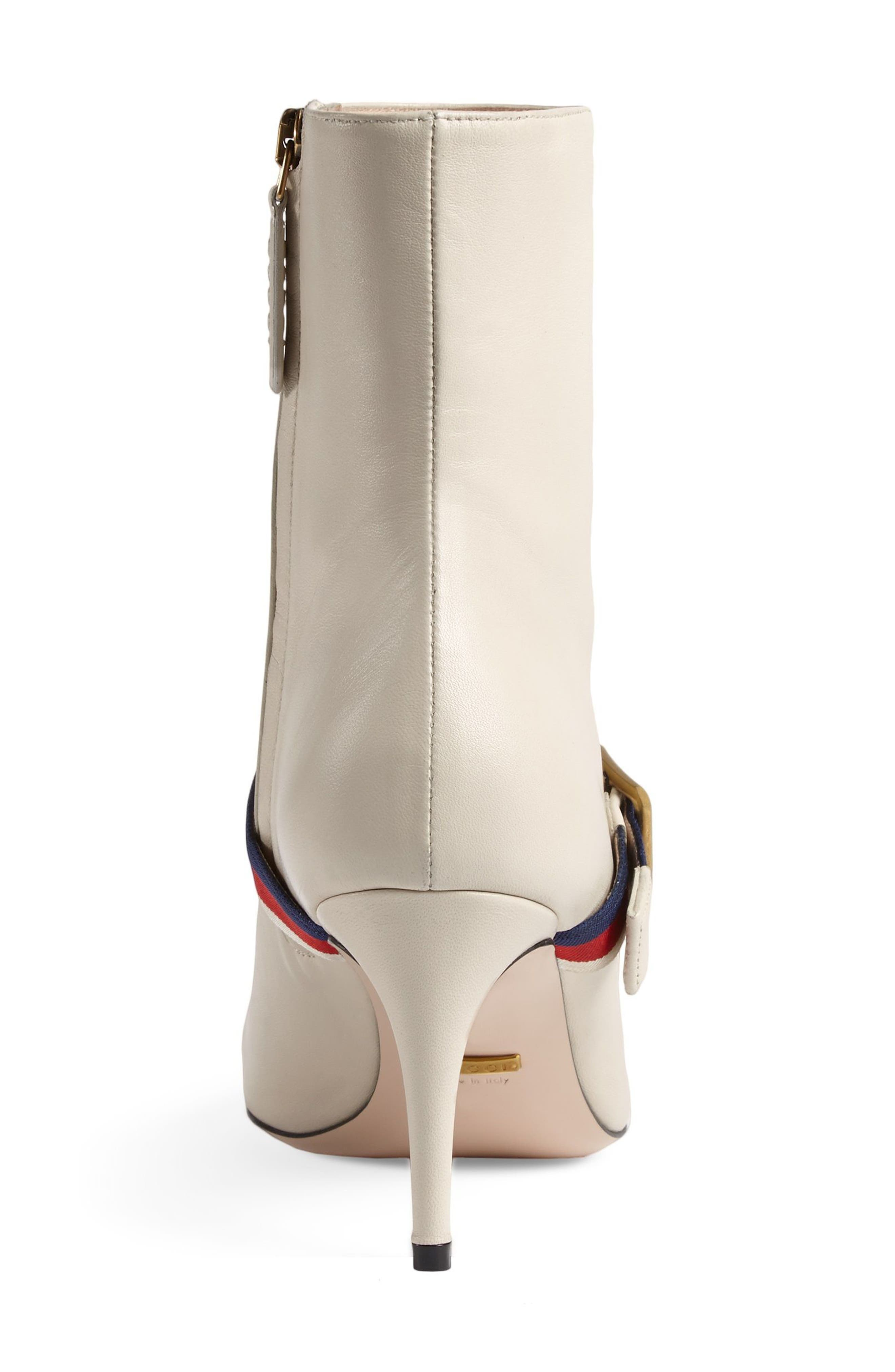 Alternate Image 4  - Gucci Sylvie Strap Ankle Boot (Women)