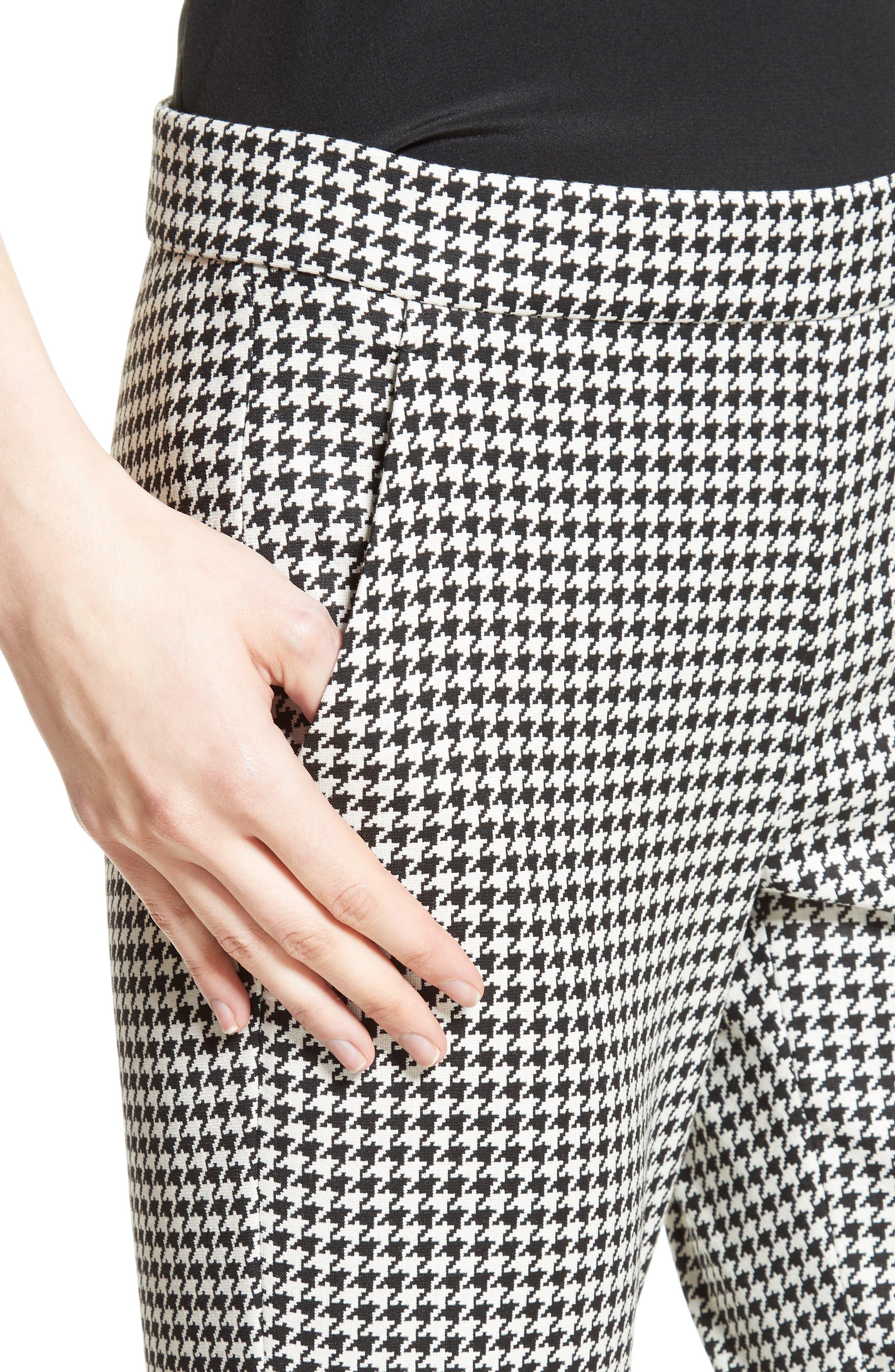 Alternate Image 6  - Max Mara Astrale Houndstooth Wool Blend Pants