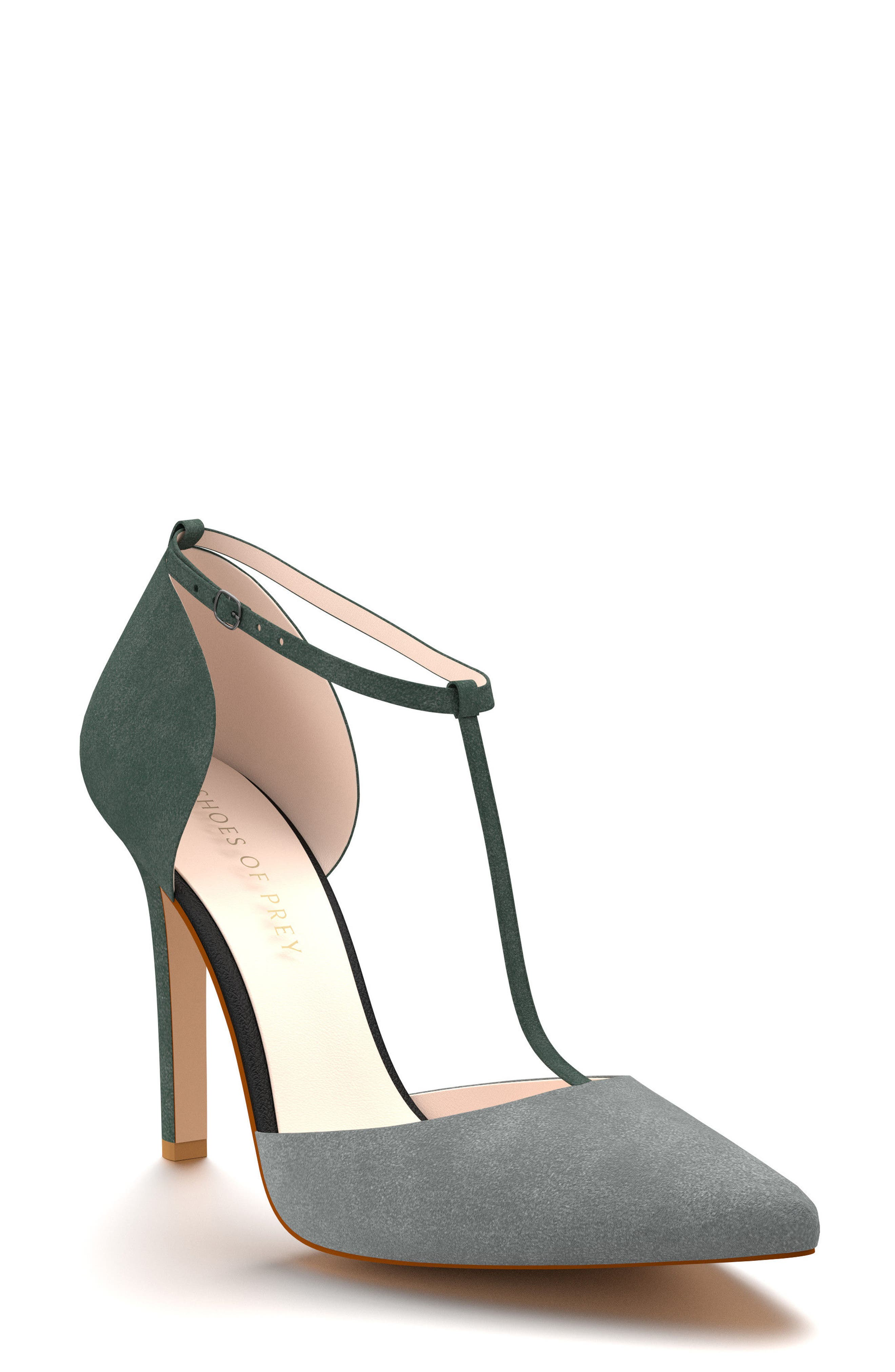 Alternate Image 1 Selected - Shoes of Prey d'Orsay T-Strap Pump (Women)