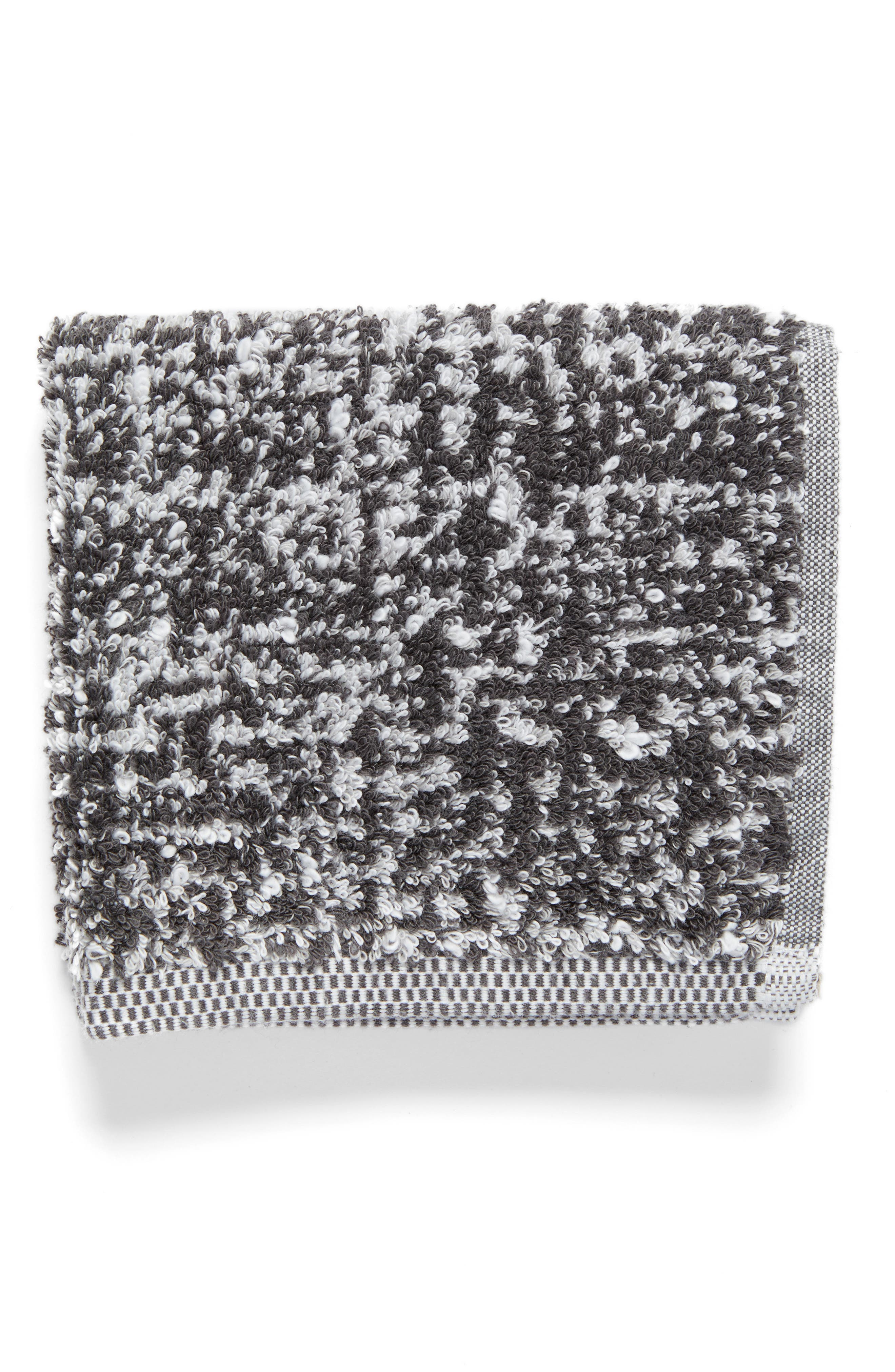 Alternate Image 1 Selected - Nordstrom at Home Tweed Jacquard Washcloth (2 for $17)