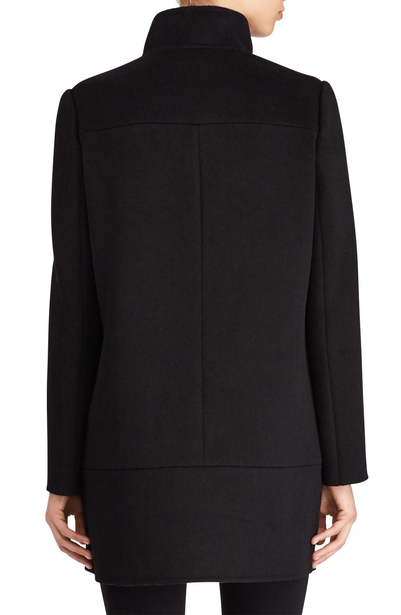 Alternate Image 3  - Lauren Ralph Lauren Double Face Wool Blend Coat