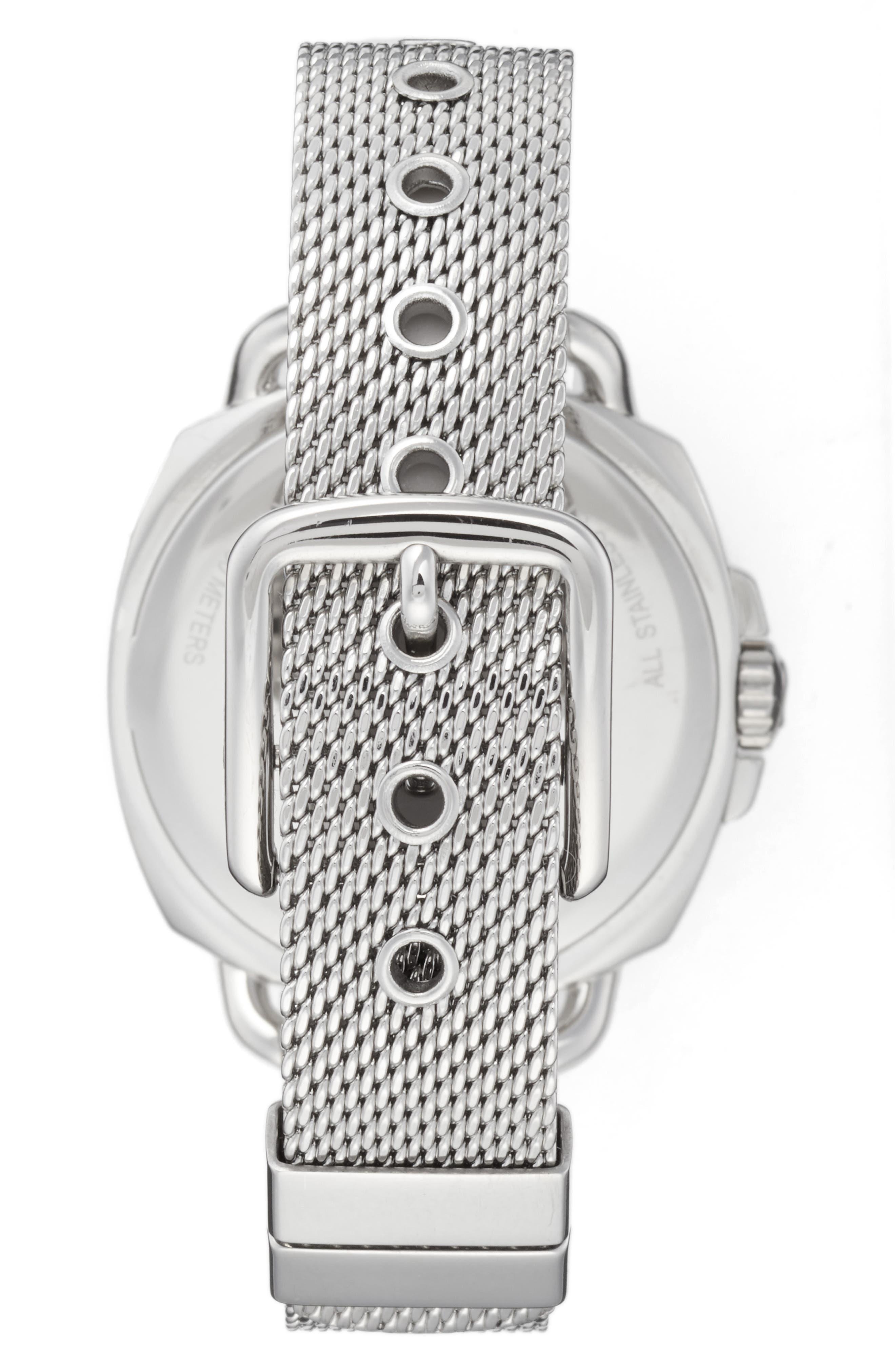 Alternate Image 2  - COACH Tatum Crystal Mesh Strap Watch, 35mm