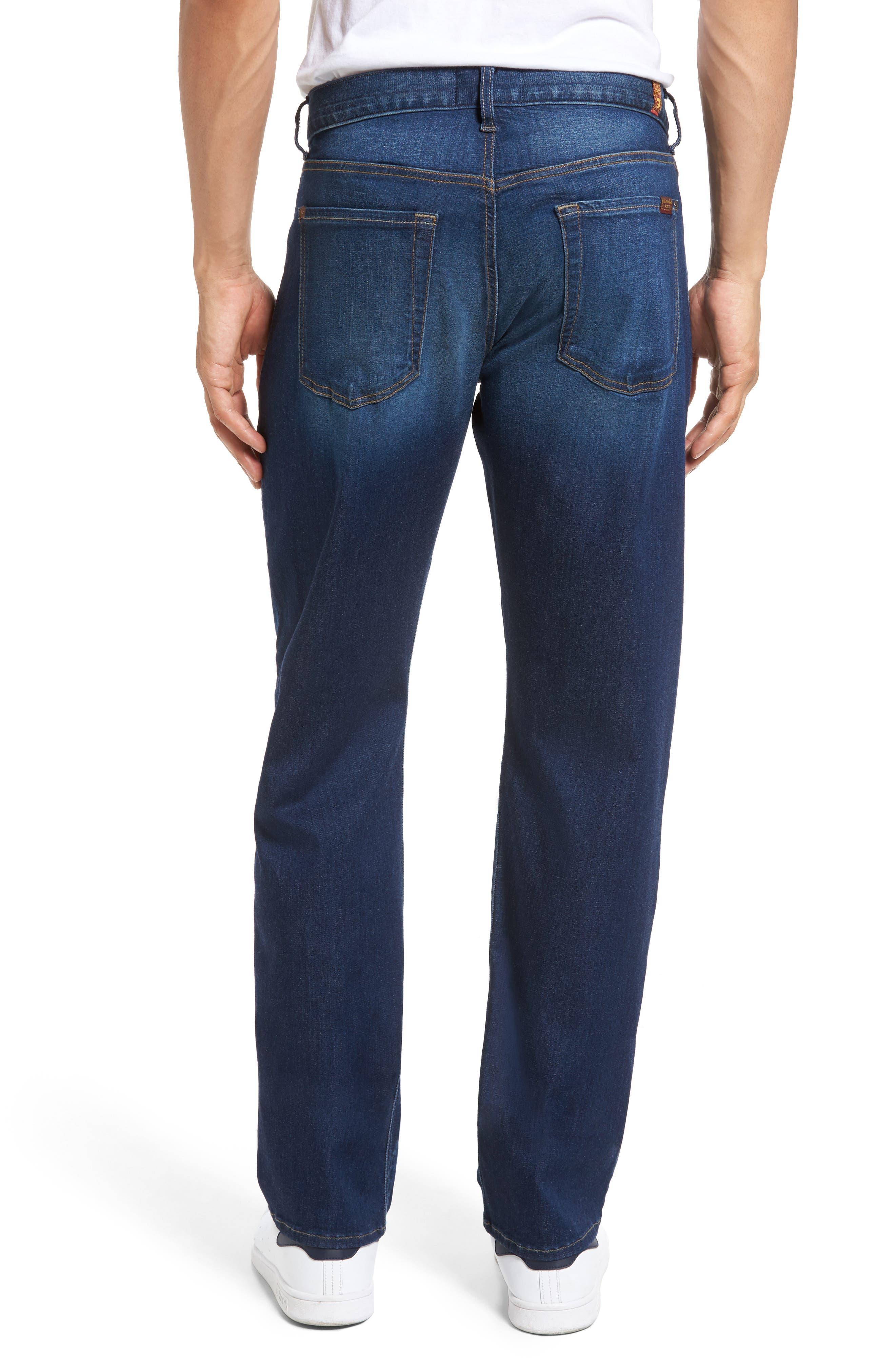 Alternate Image 2  - 7 For All Mankind® Slimmy Slim Fit Jeans (MOMT-Momentum)