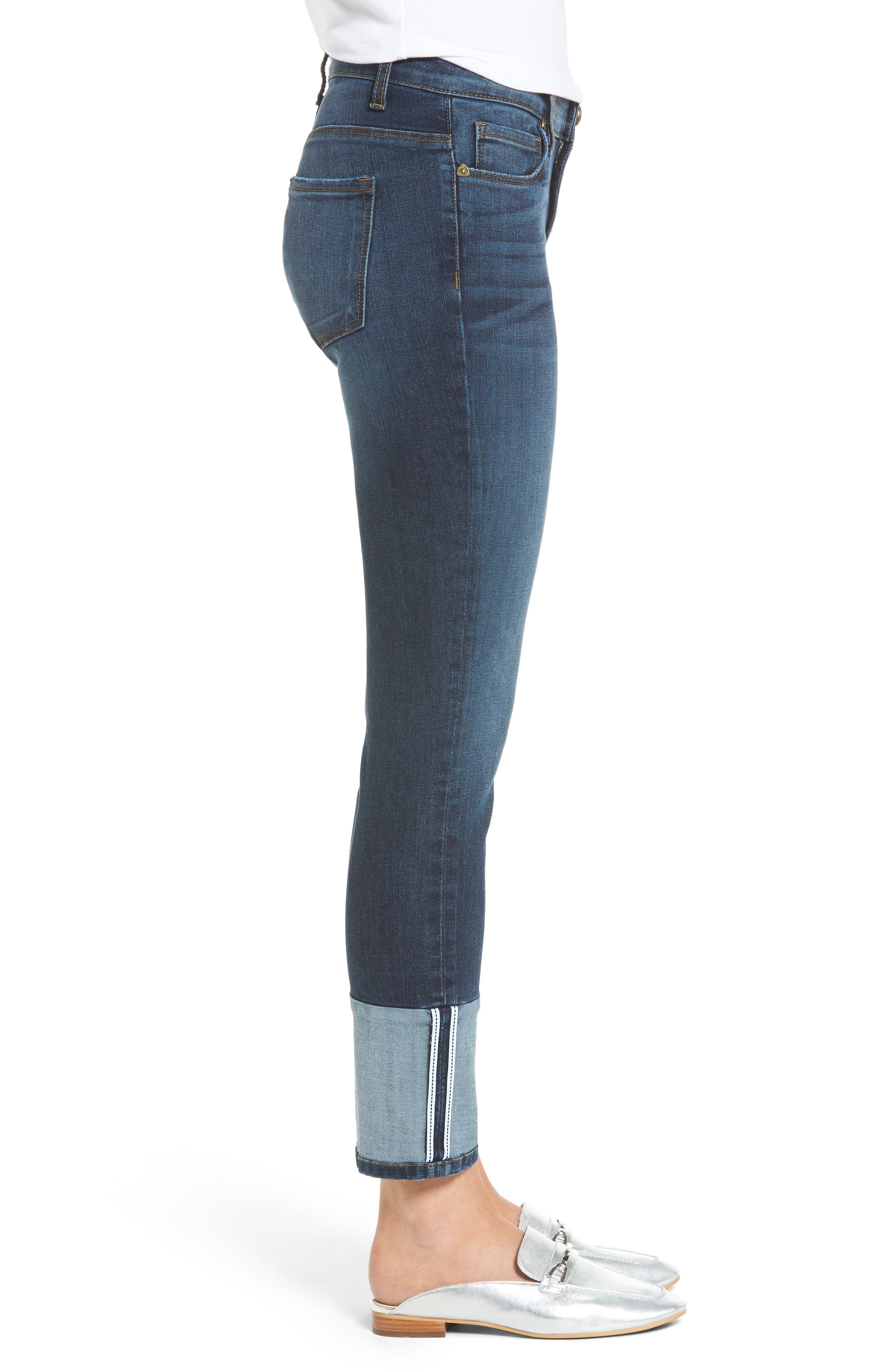 Reese Straight Leg Jeans,                             Alternate thumbnail 3, color,                             Stimulating
